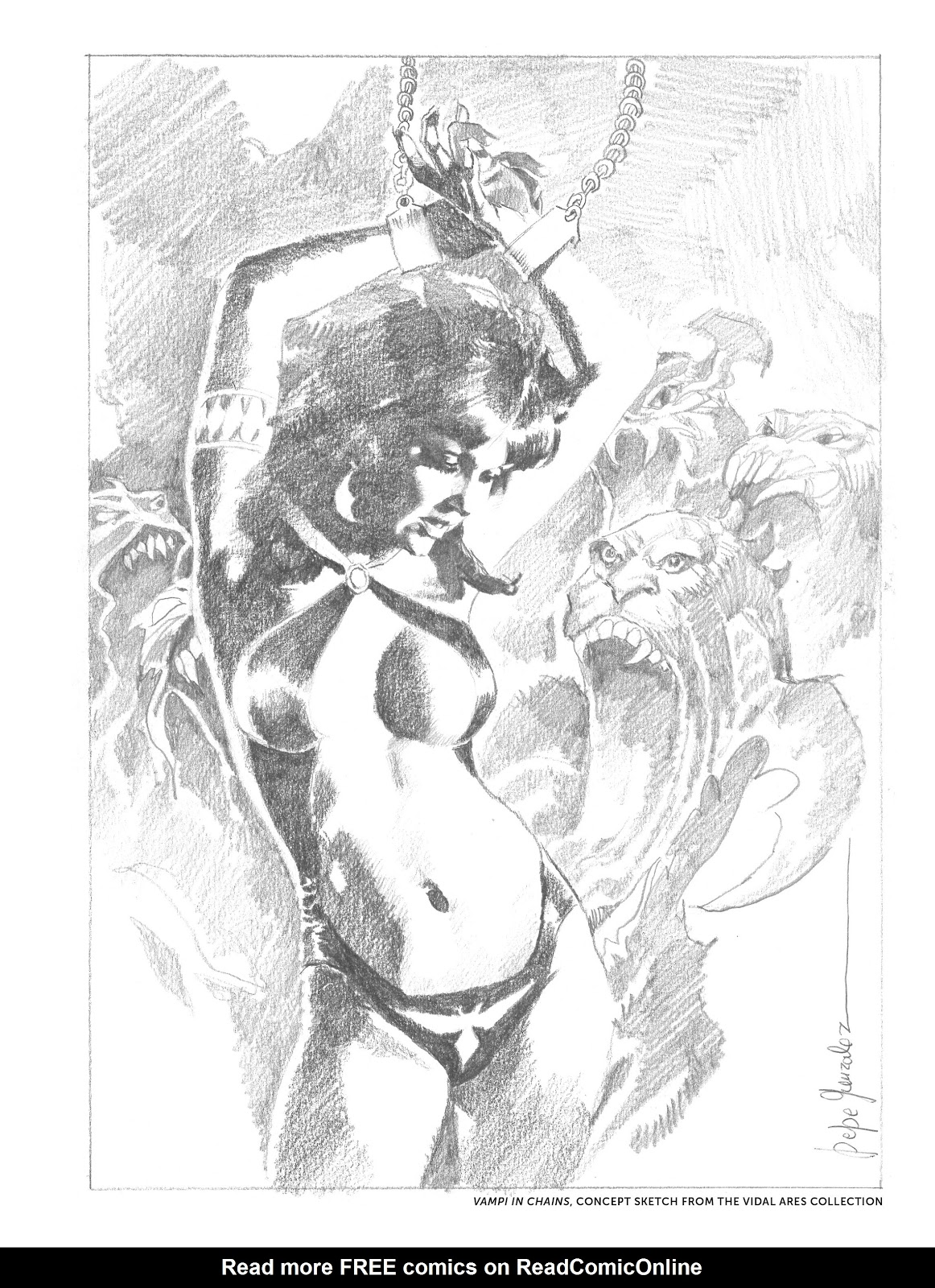 Read online The Art of Jose Gonzalez comic -  Issue # TPB (Part 2) - 35