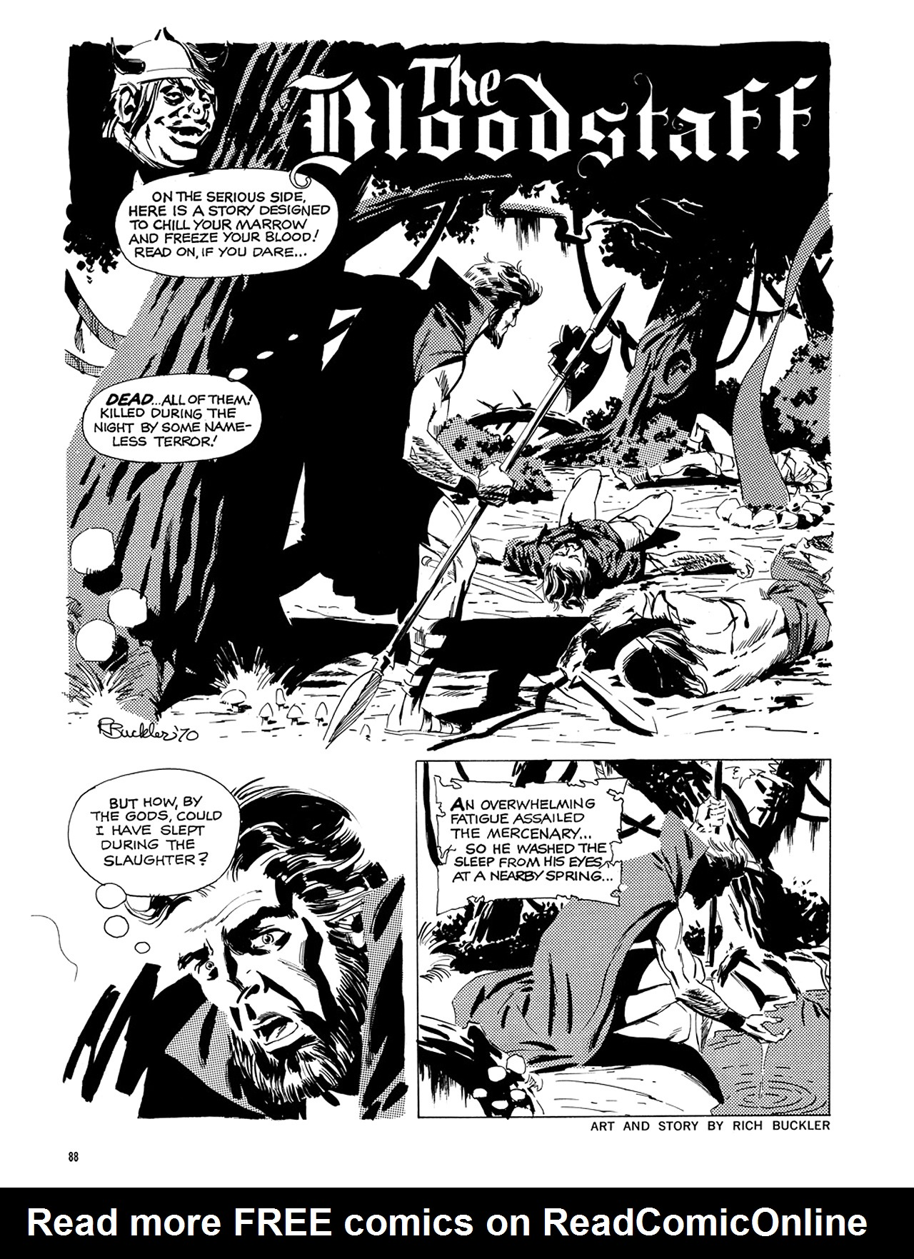 Read online Eerie Archives comic -  Issue # TPB 6 - 89