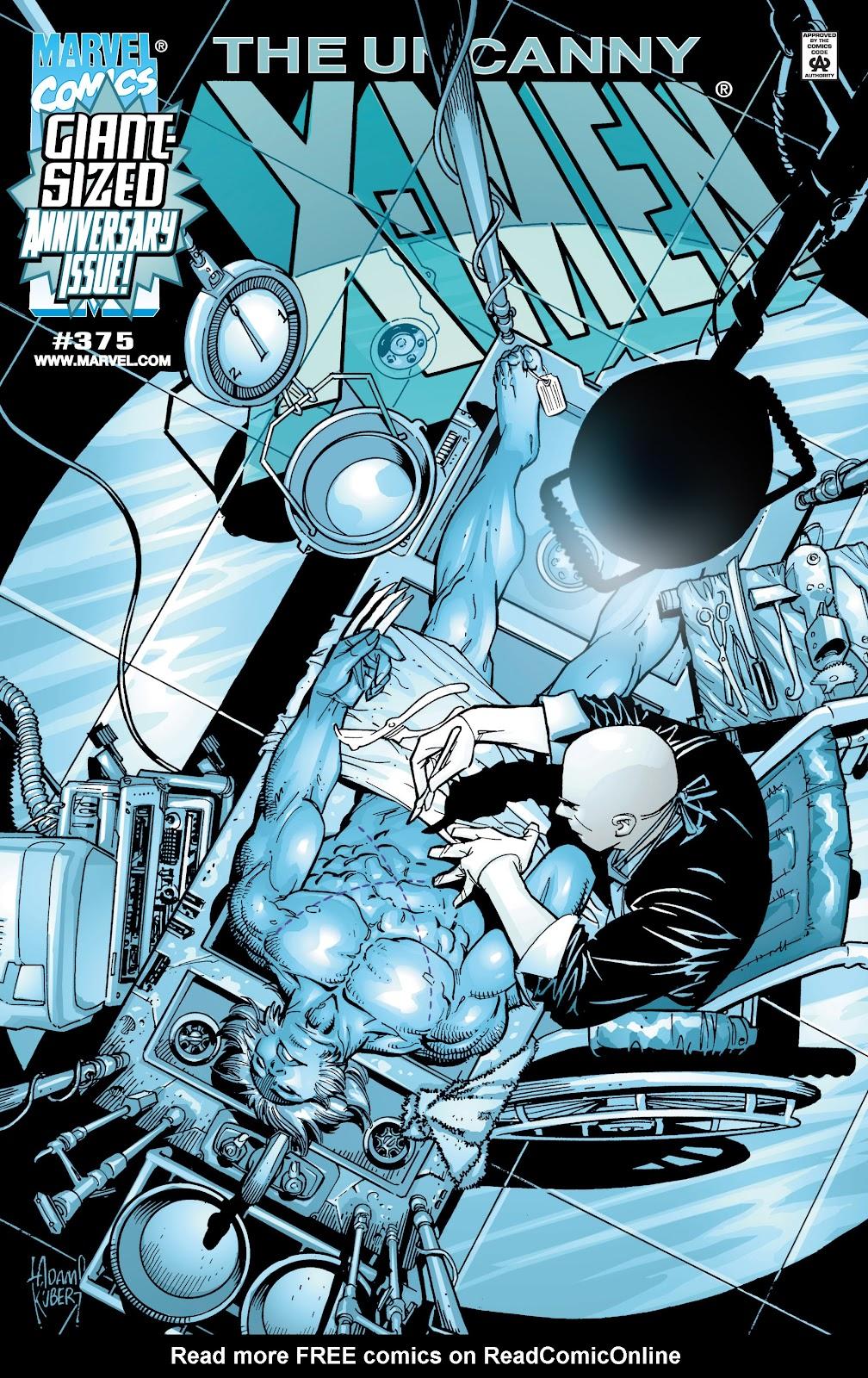 Uncanny X-Men (1963) issue 375 - Page 1