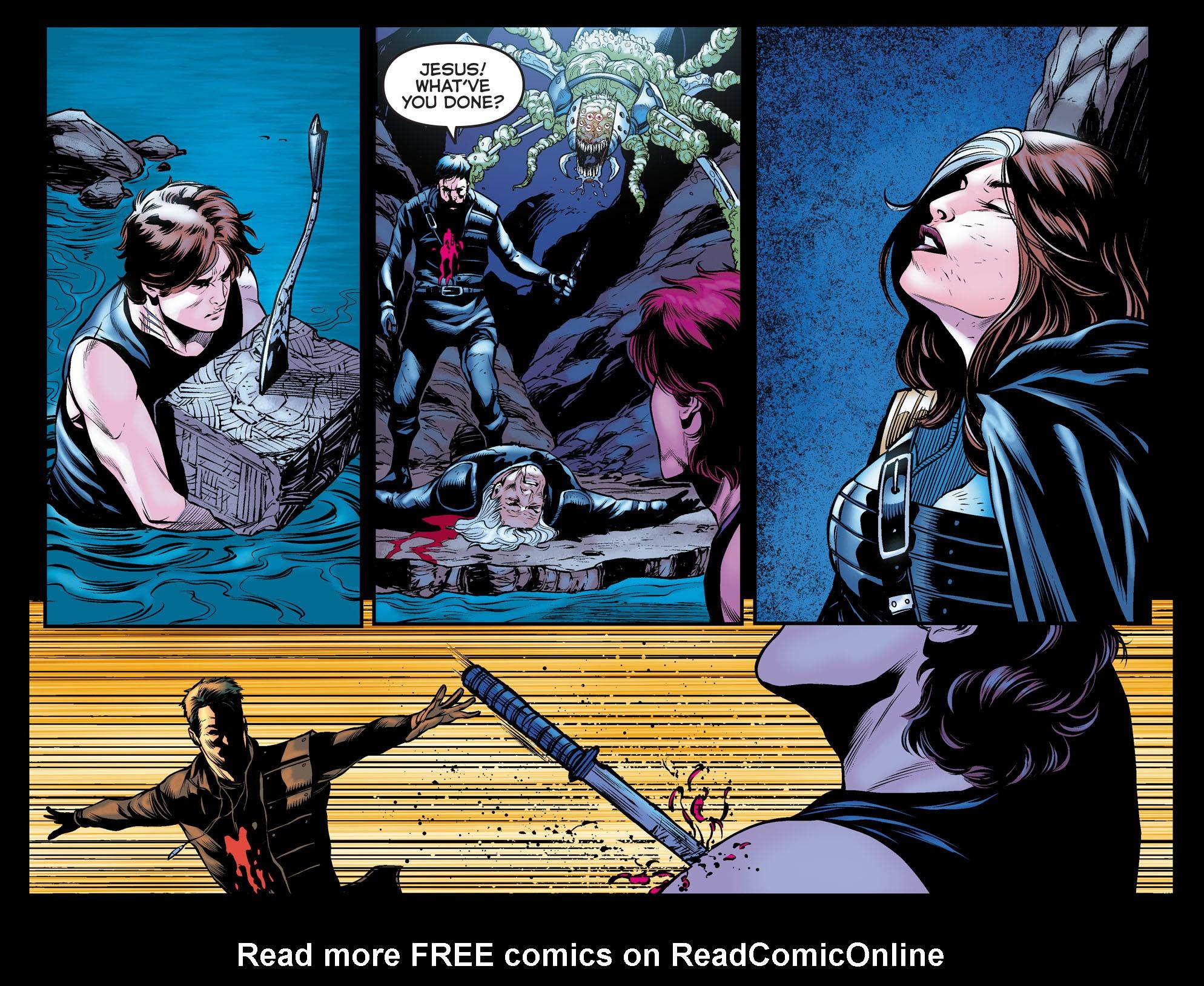 Read online Arrow: The Dark Archer comic -  Issue #11 - 21
