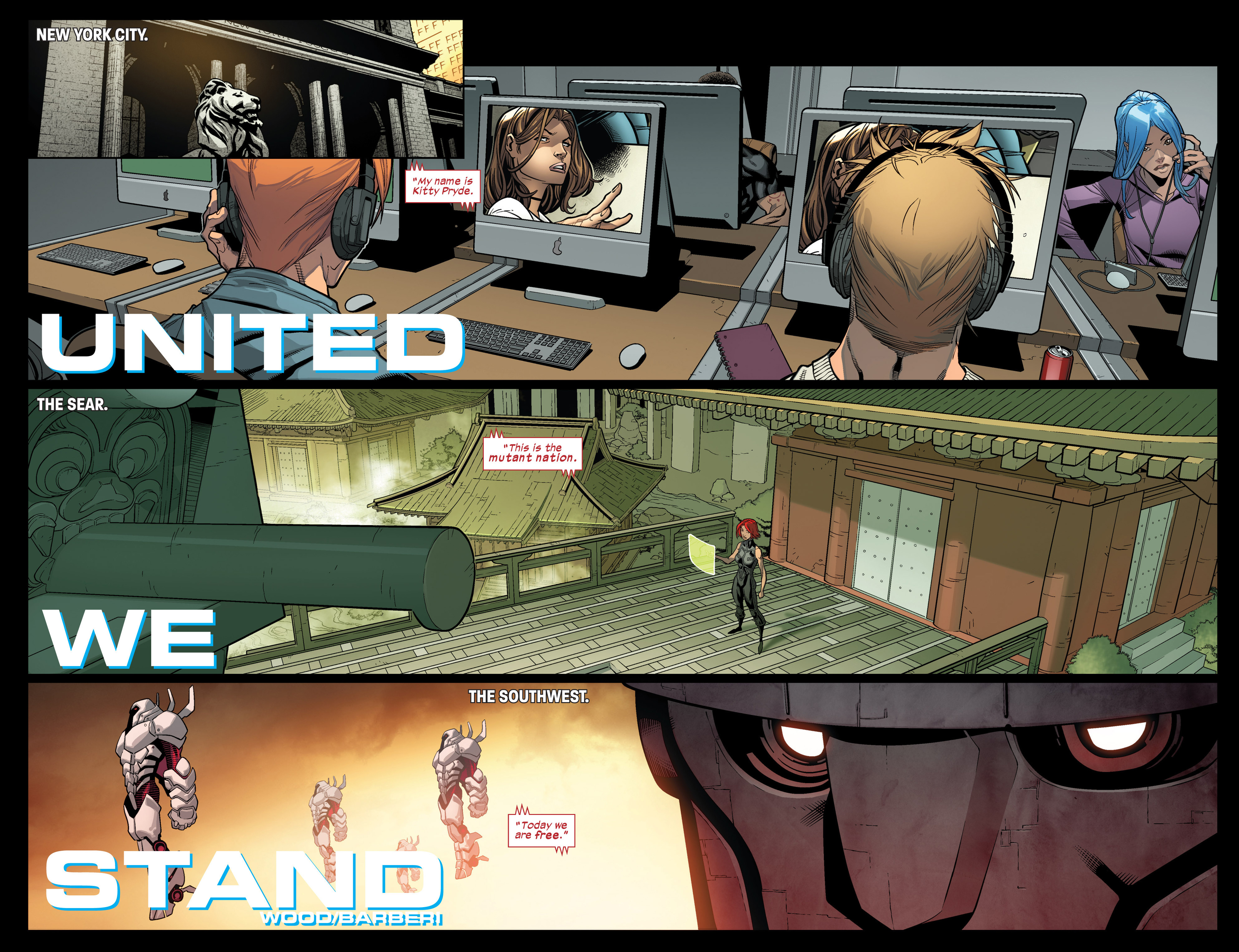 Read online Ultimate Comics X-Men comic -  Issue #17 - 7
