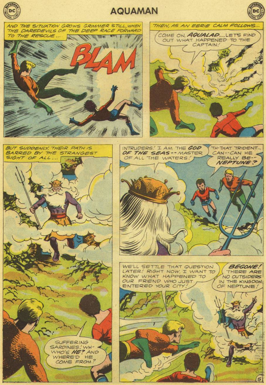 Read online Aquaman (1962) comic -  Issue #9 - 7