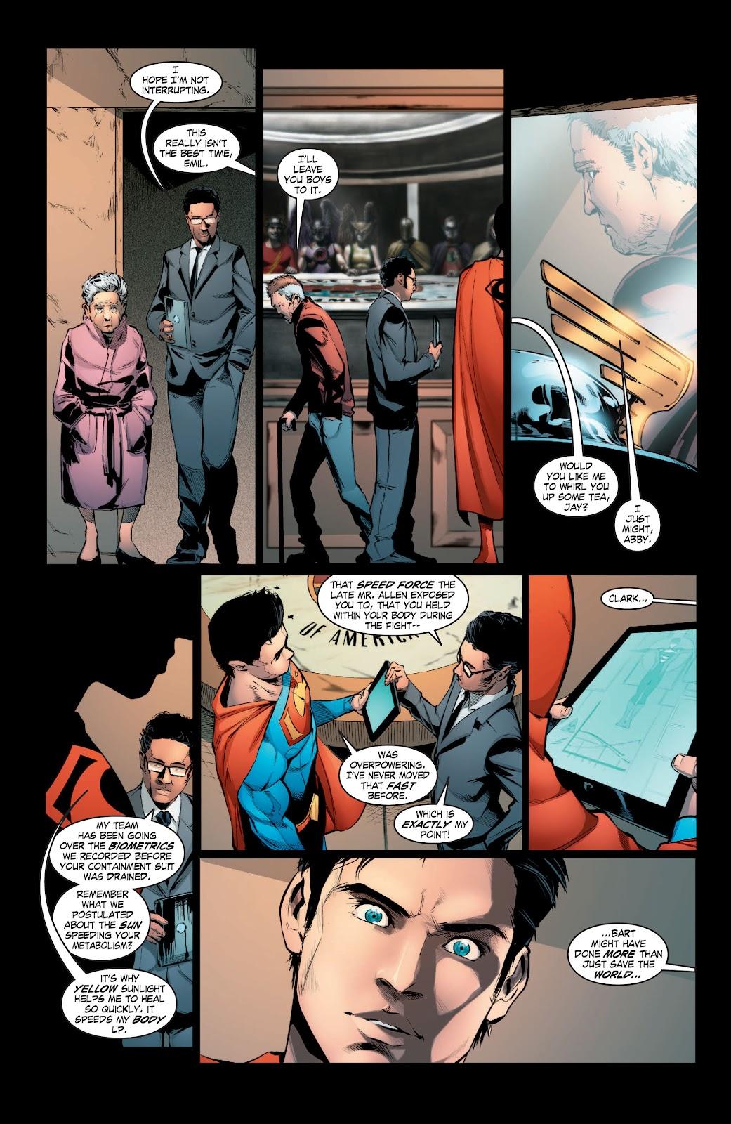 Read online Smallville Season 11 [II] comic -  Issue # TPB 3 - 122