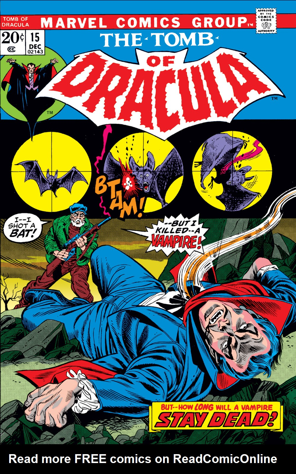 Tomb of Dracula (1972) issue 15 - Page 1
