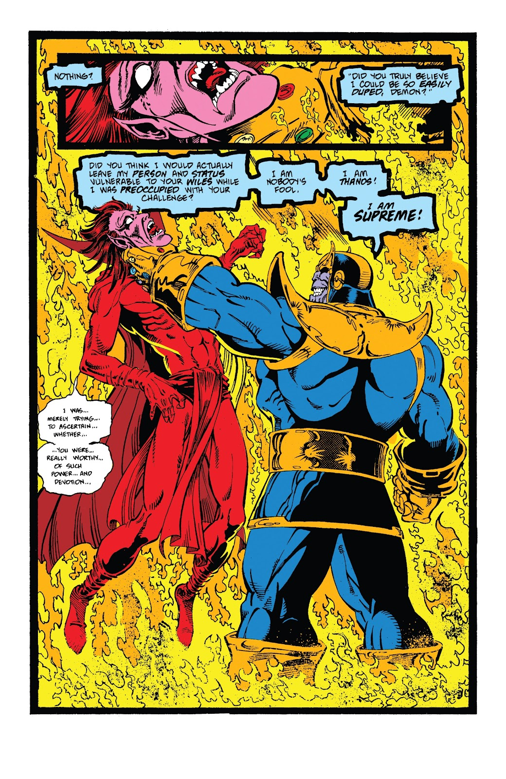 Read online Marvel Tales: Thanos comic -  Issue # Full - 45
