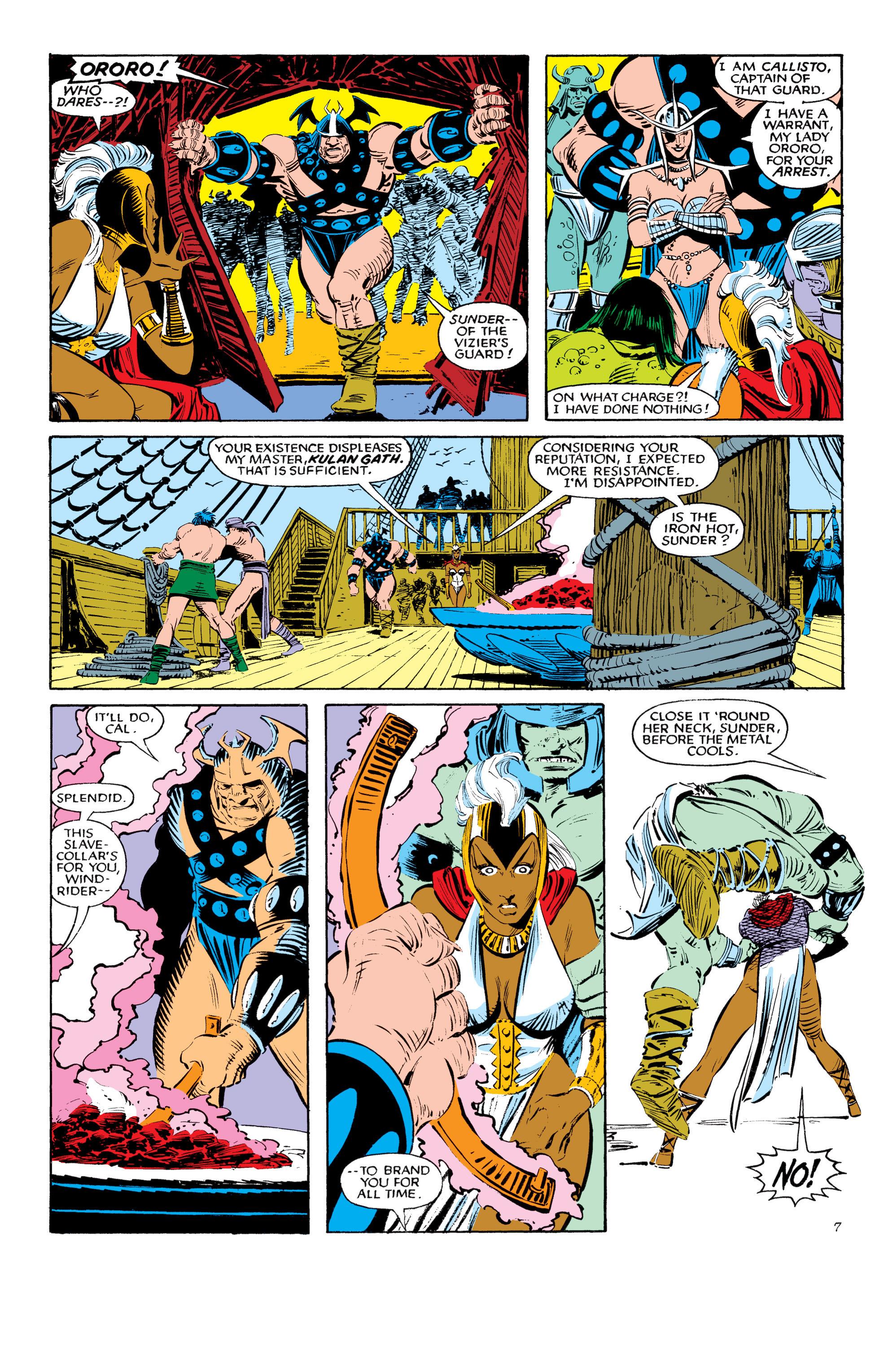 Read online Uncanny X-Men (1963) comic -  Issue #190 - 7