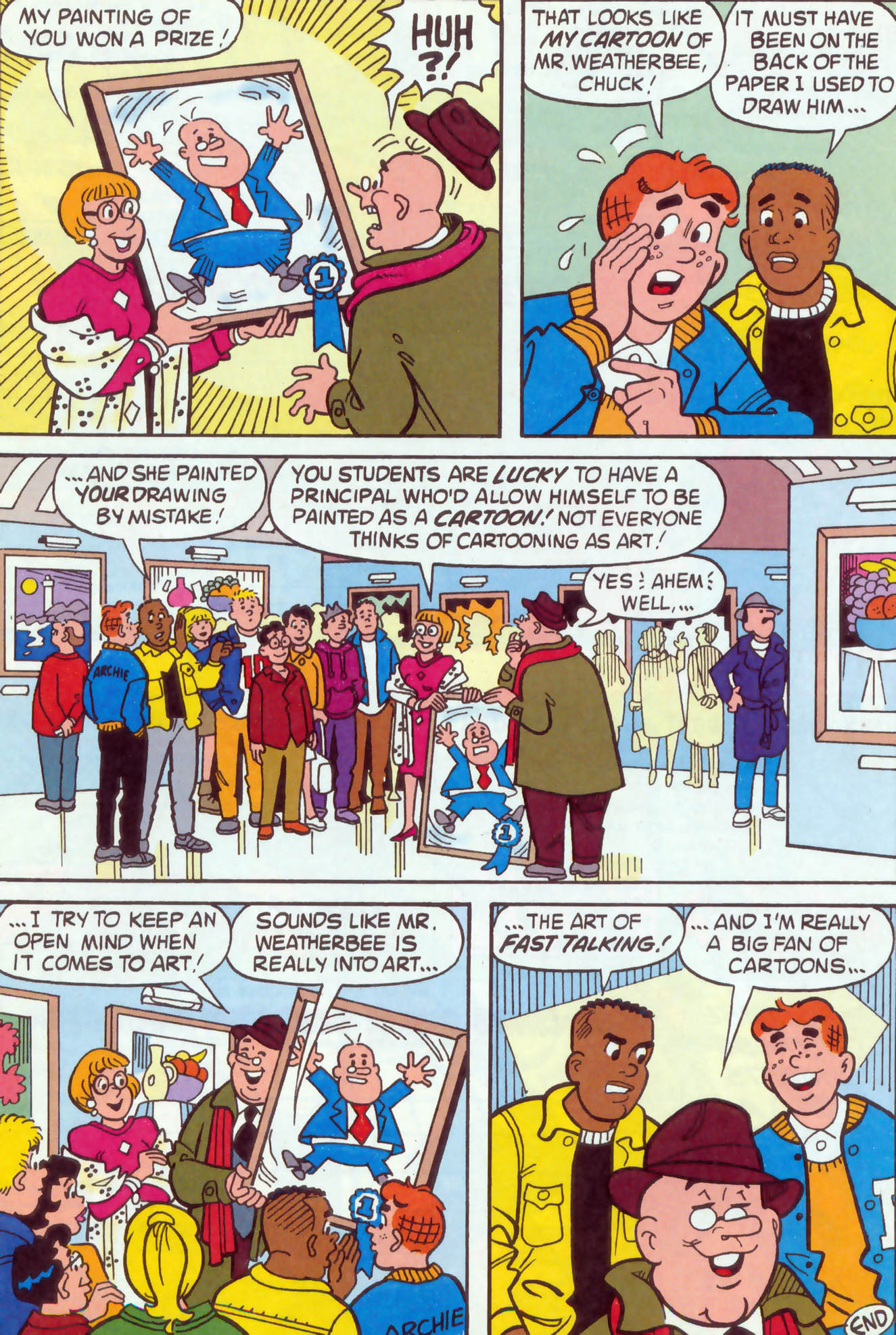 Read online Archie (1960) comic -  Issue #470 - 24