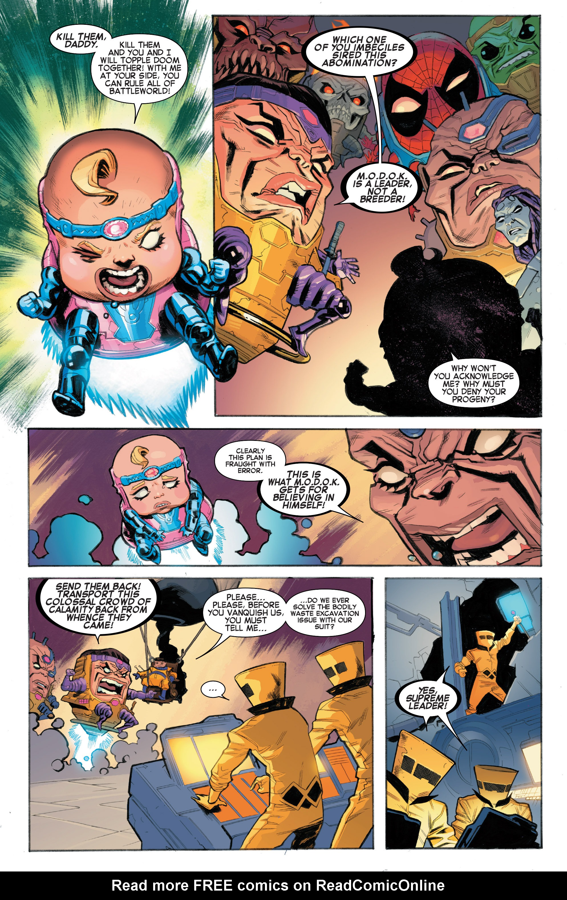 Read online Secret Wars: Battleworld comic -  Issue #1 - 16