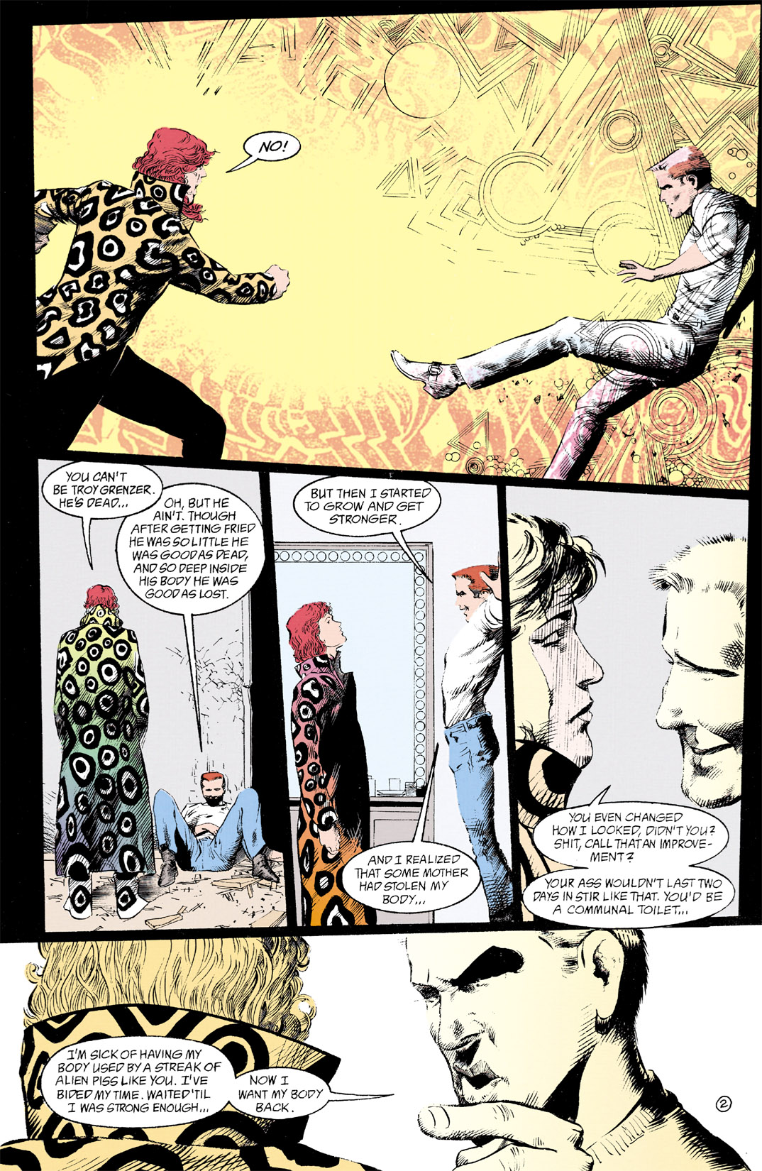 Read online Shade, the Changing Man comic -  Issue #12 - 3