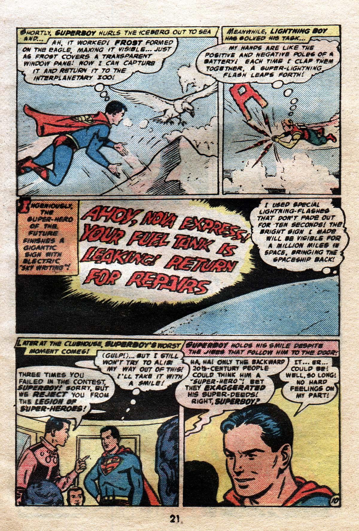 Read online Adventure Comics (1938) comic -  Issue #491 - 21