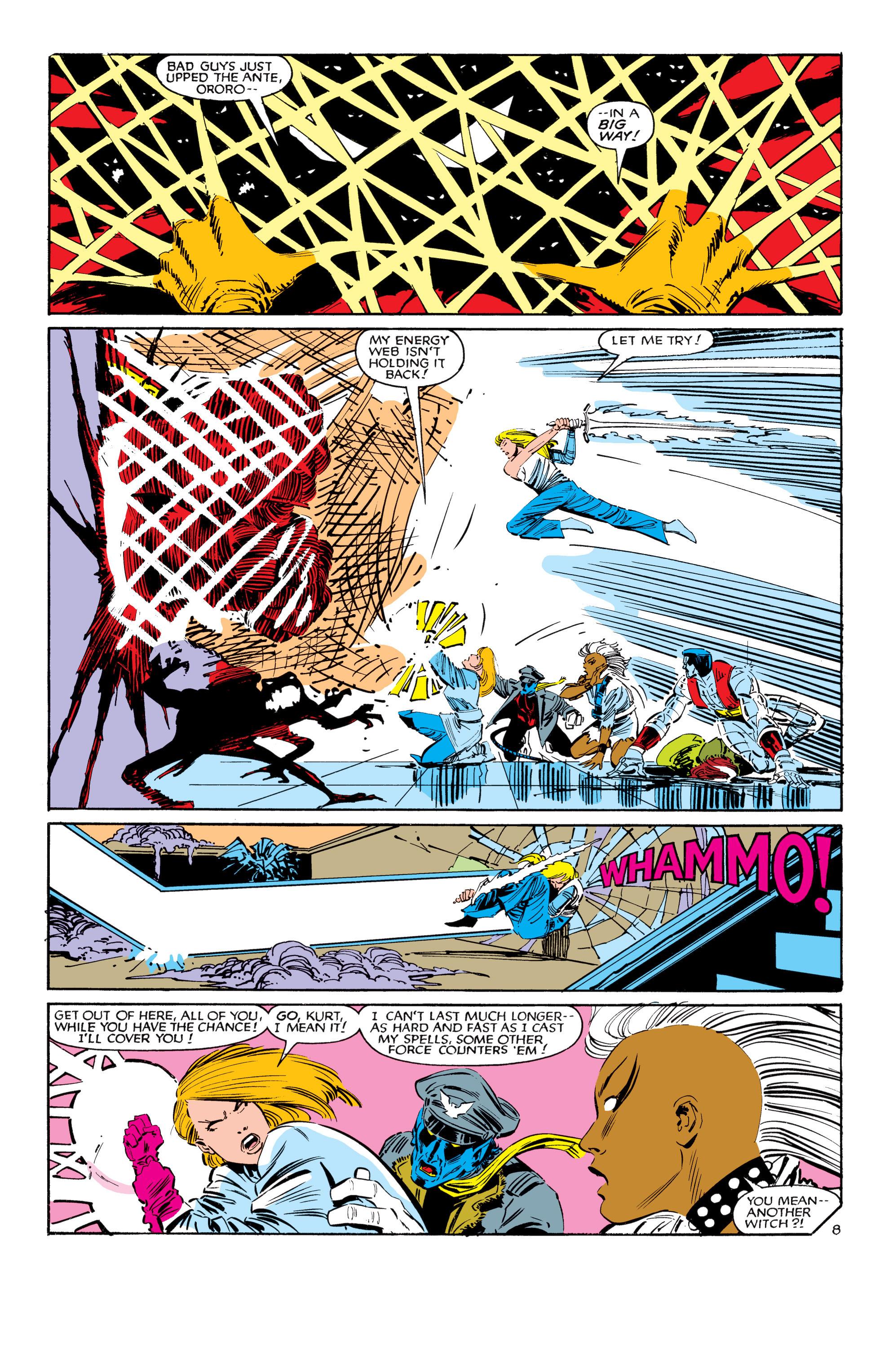 Read online Uncanny X-Men (1963) comic -  Issue #188 - 9