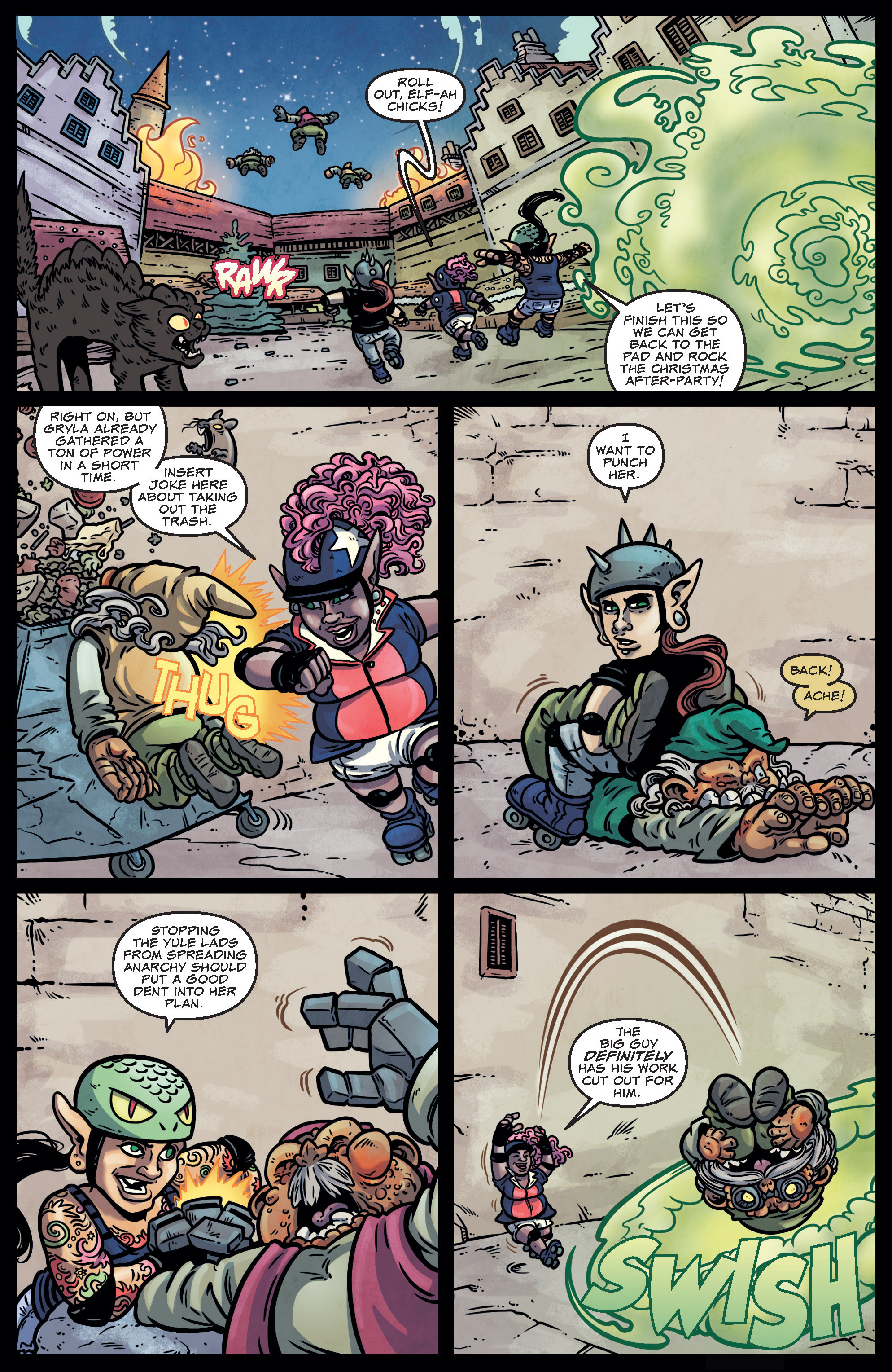 Read online Sleigher comic -  Issue #4 - 10