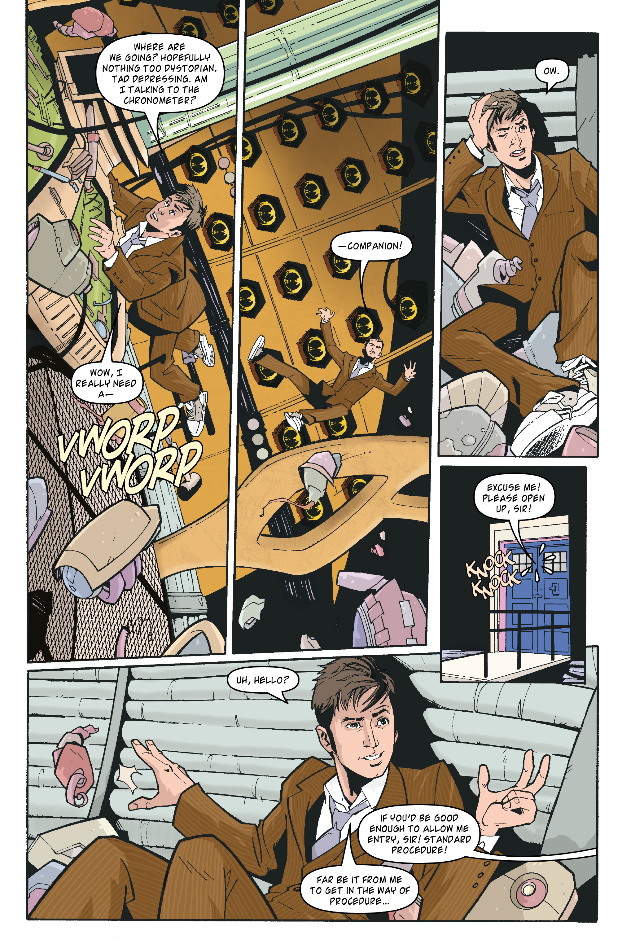Read online Doctor Who: The Tenth Doctor Archives comic -  Issue #35 - 4