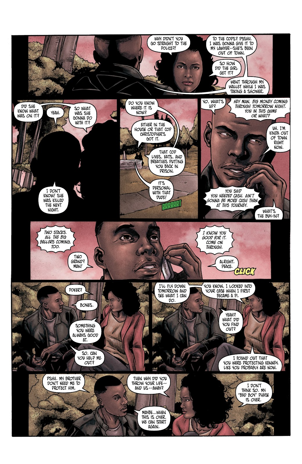 Read online Vindication comic -  Issue #2 - 14