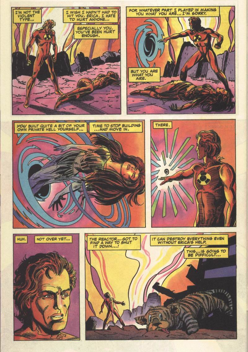 Read online Solar, Man of the Atom comic -  Issue #13 - 25