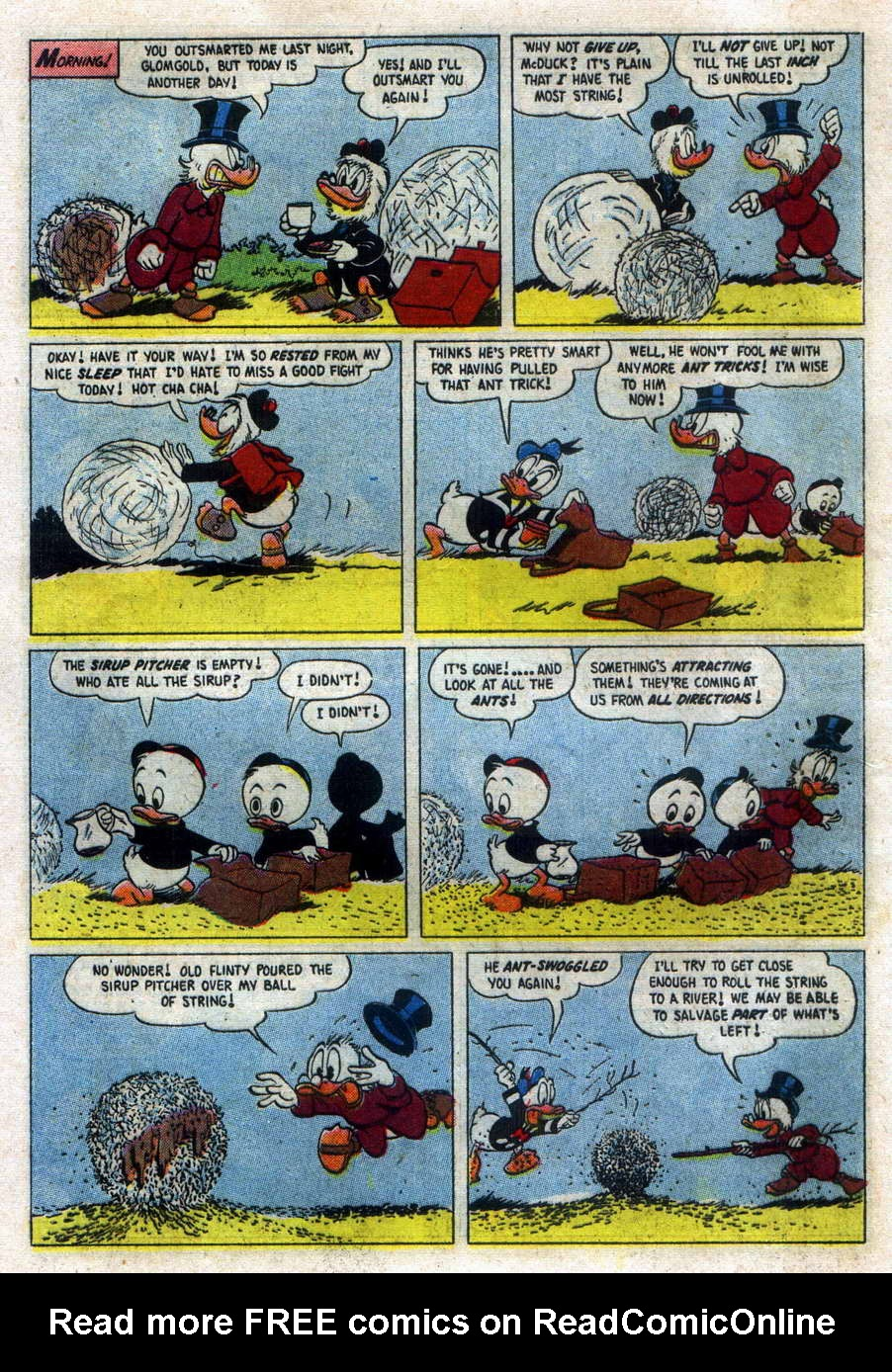 Read online Uncle Scrooge (1953) comic -  Issue #15 - 16