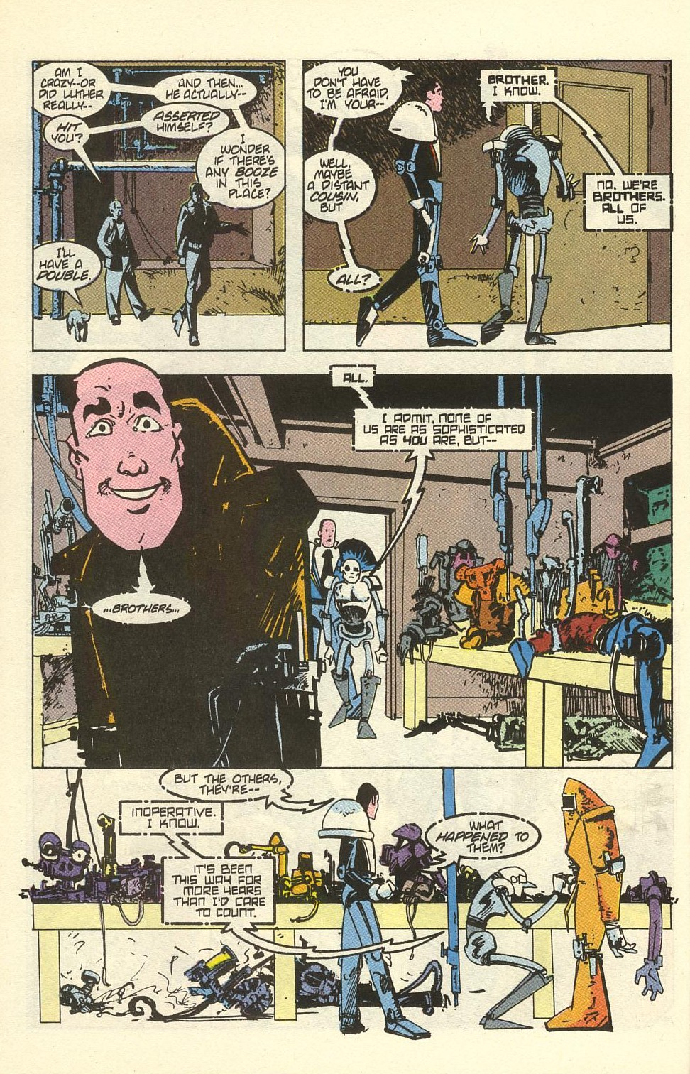 Read online American Flagg! comic -  Issue #41 - 26