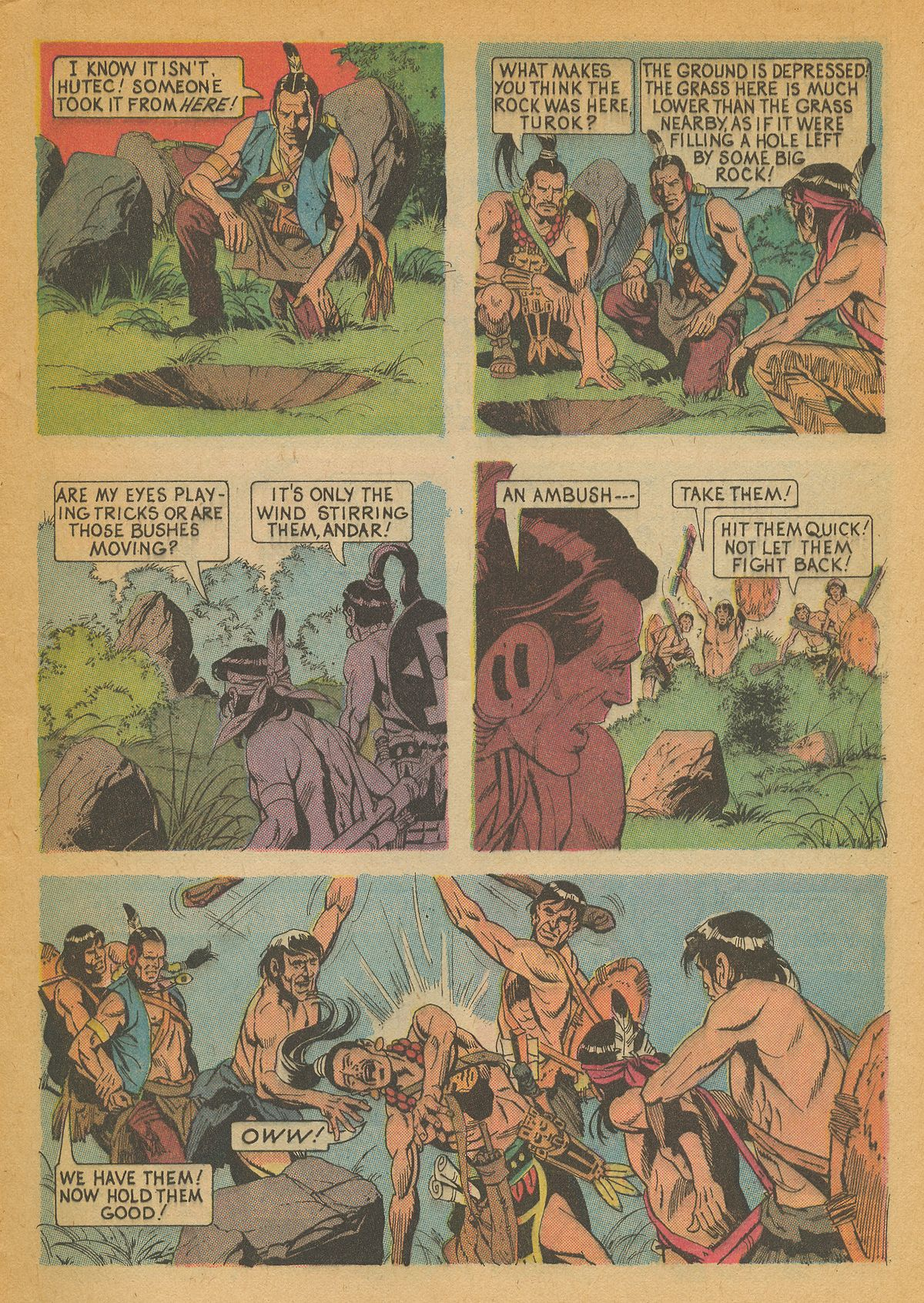 Read online Turok, Son of Stone comic -  Issue #85 - 9