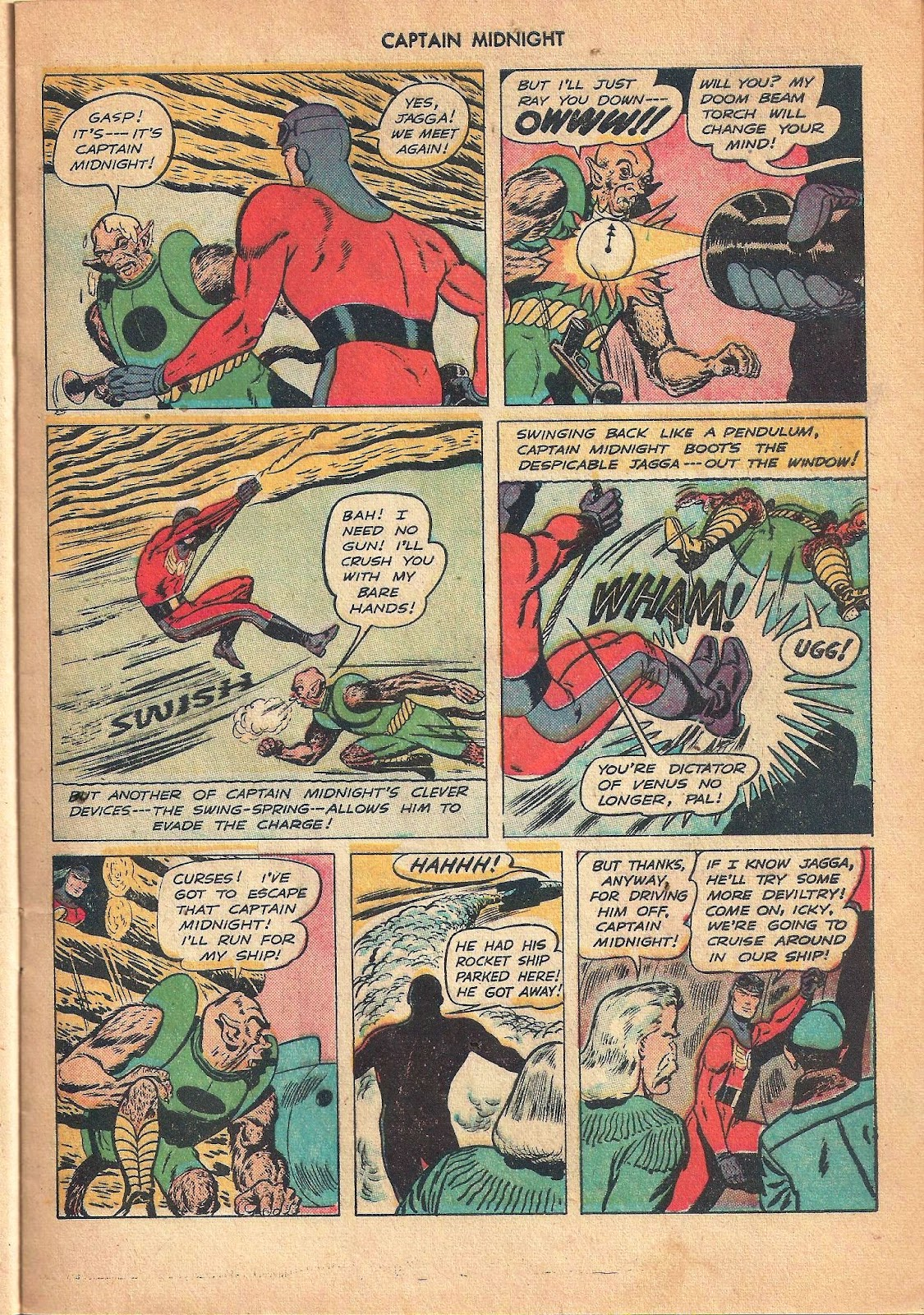 Captain Midnight (1942) issue 53 - Page 21