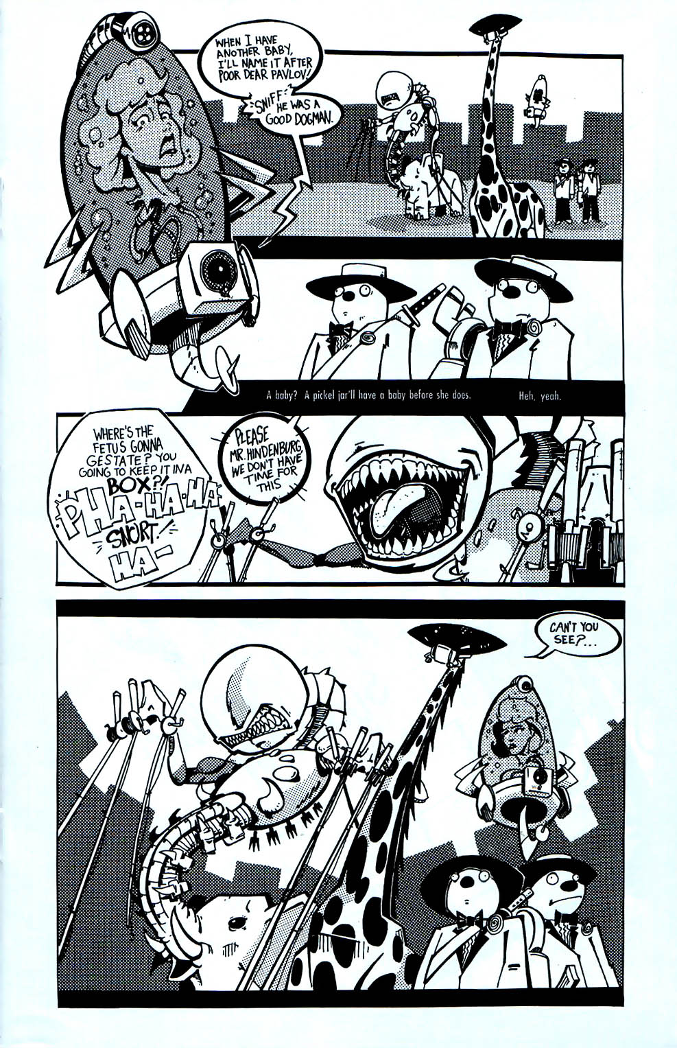 Read online Scud: The Disposable Assassin (1994) comic -  Issue #7 - 8