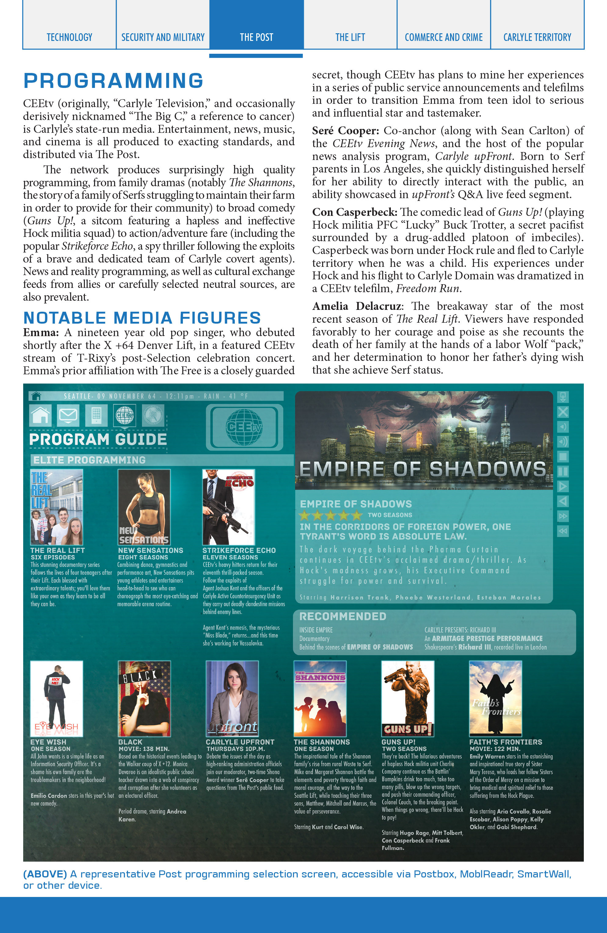 Read online Lazarus Sourcebook comic -  Issue # Vol. 1 - 19