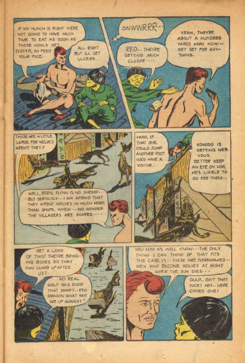 Read online Super-Magician Comics comic -  Issue #54 - 30