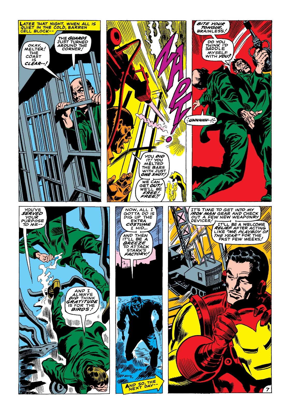 Read online Marvel Masterworks: The Invincible Iron Man comic -  Issue # TPB 4 (Part 1) - 78