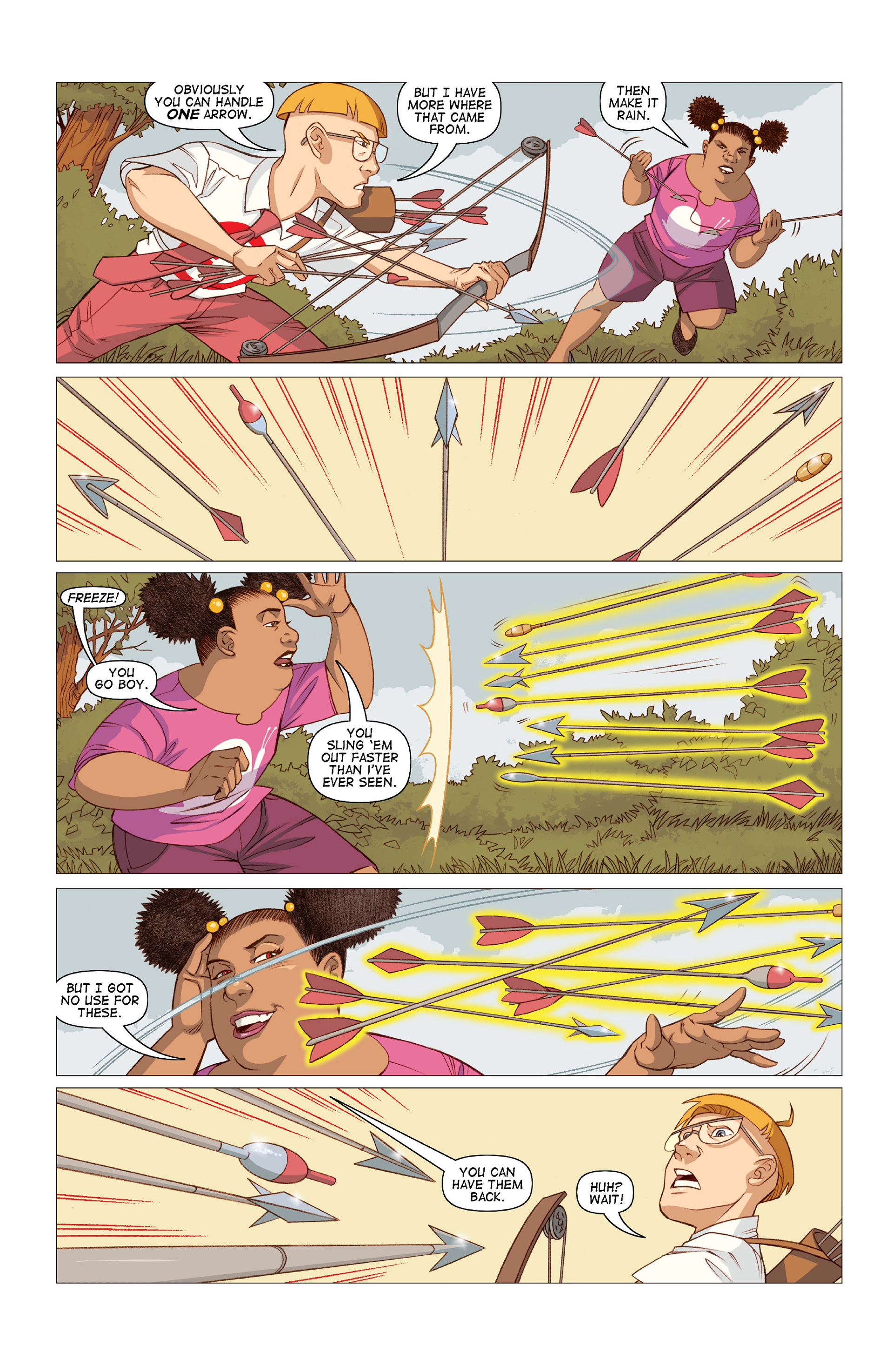 Read online Five Weapons comic -  Issue #10 - 12