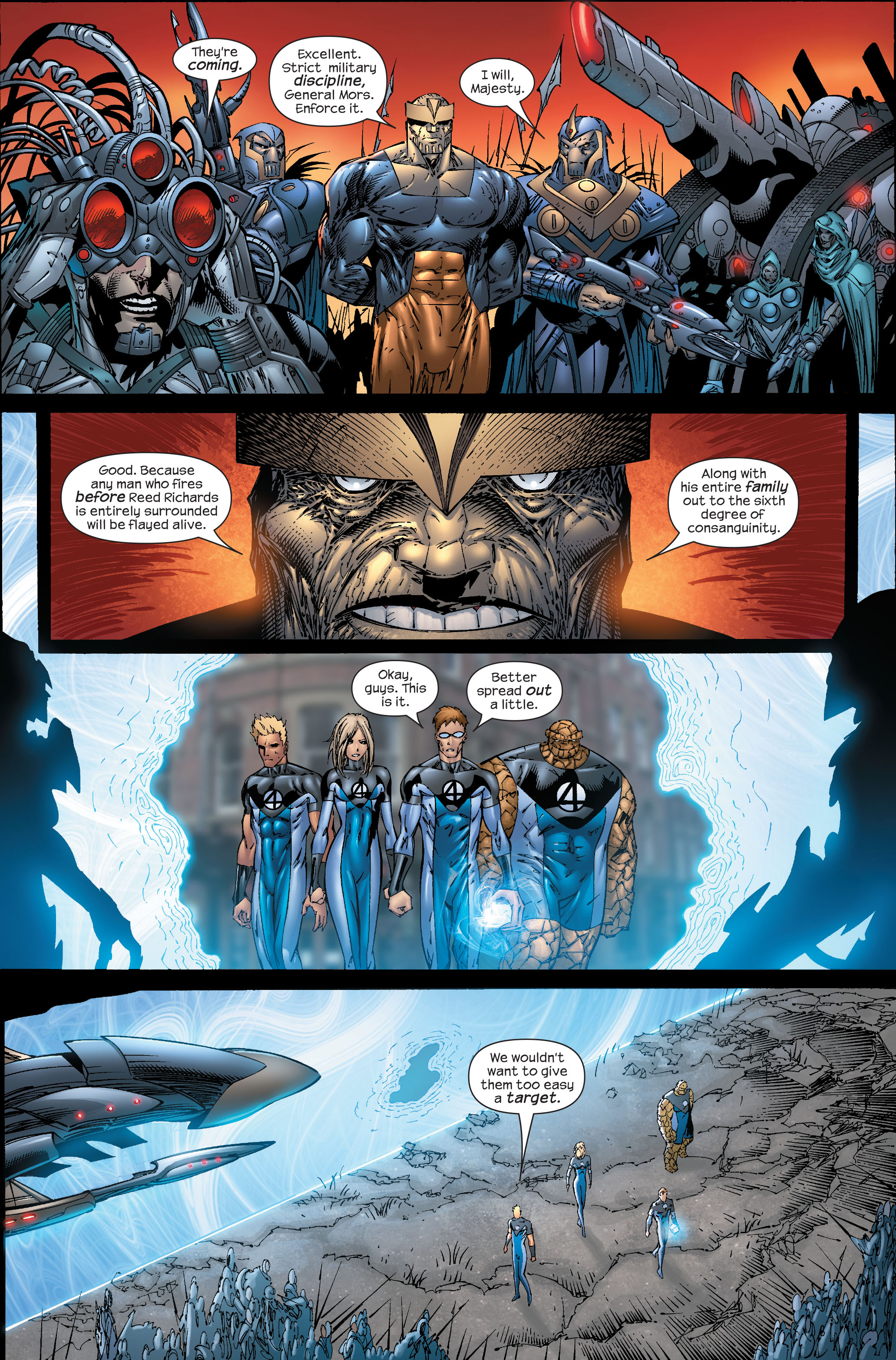 Read online Ultimate Fantastic Four (2004) comic -  Issue #51 - 13