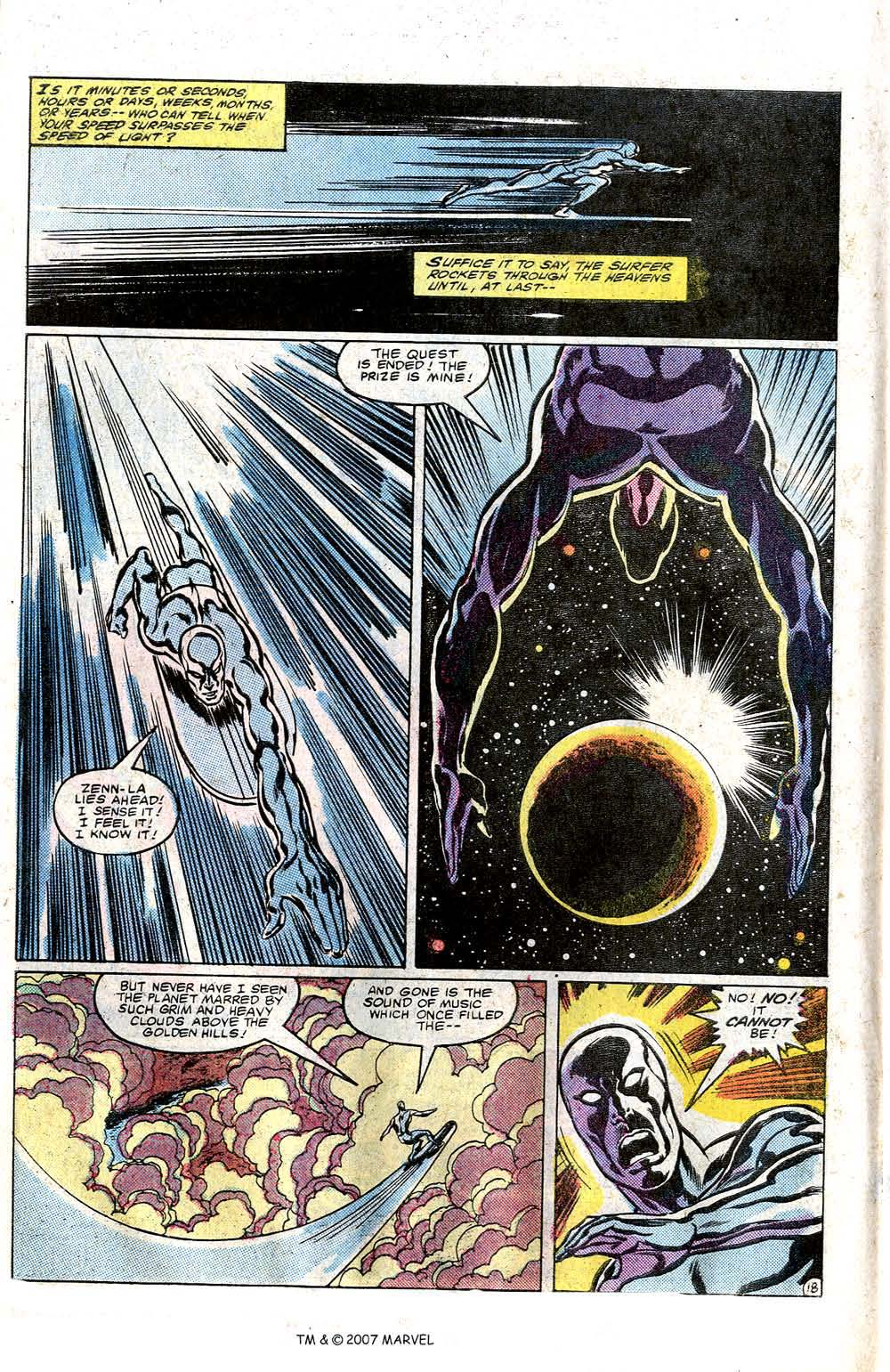 Read online Silver Surfer (1982) comic -  Issue # Full - 20