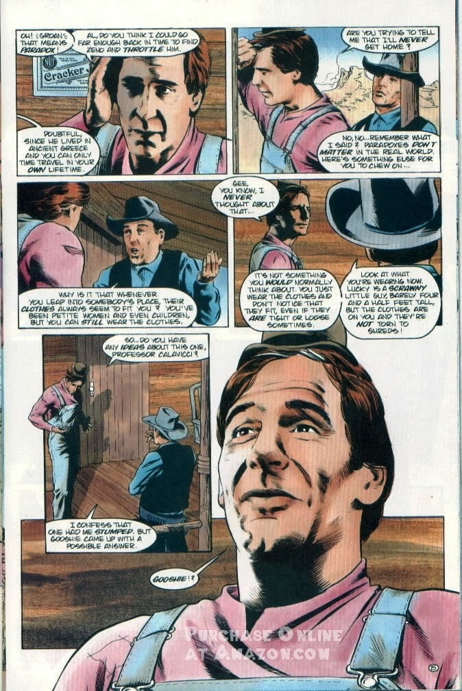 Read online Quantum Leap comic -  Issue #12 - 16