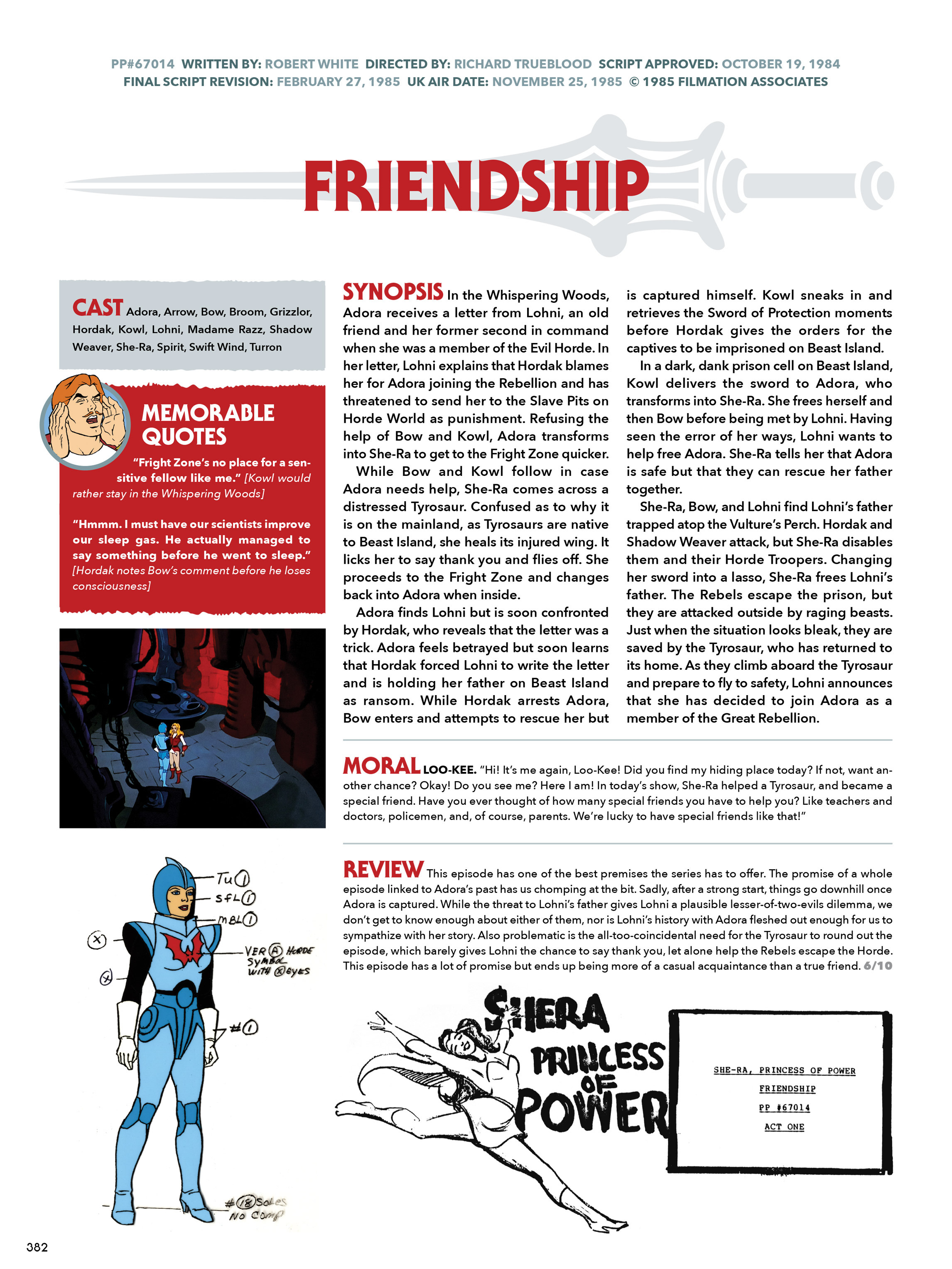 Read online He-Man and She-Ra: A Complete Guide to the Classic Animated Adventures comic -  Issue # TPB (Part 2) - 183