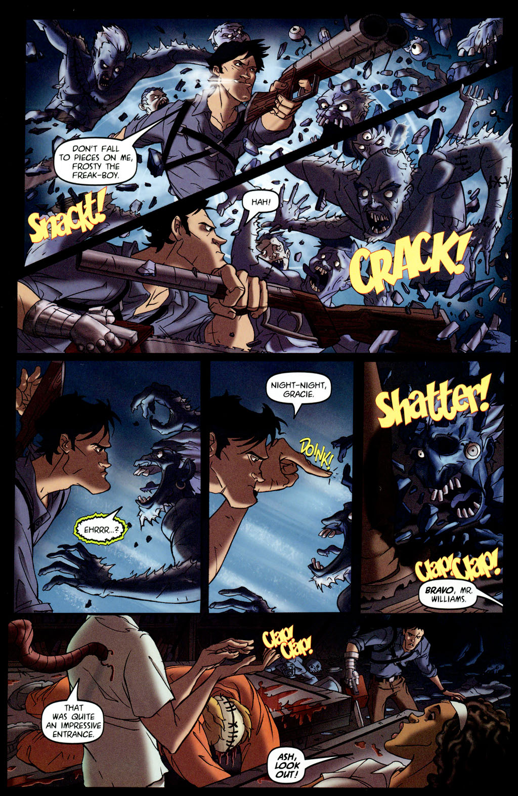 Read online Army of Darkness vs. Re-Animator comic -  Issue #4 - 12