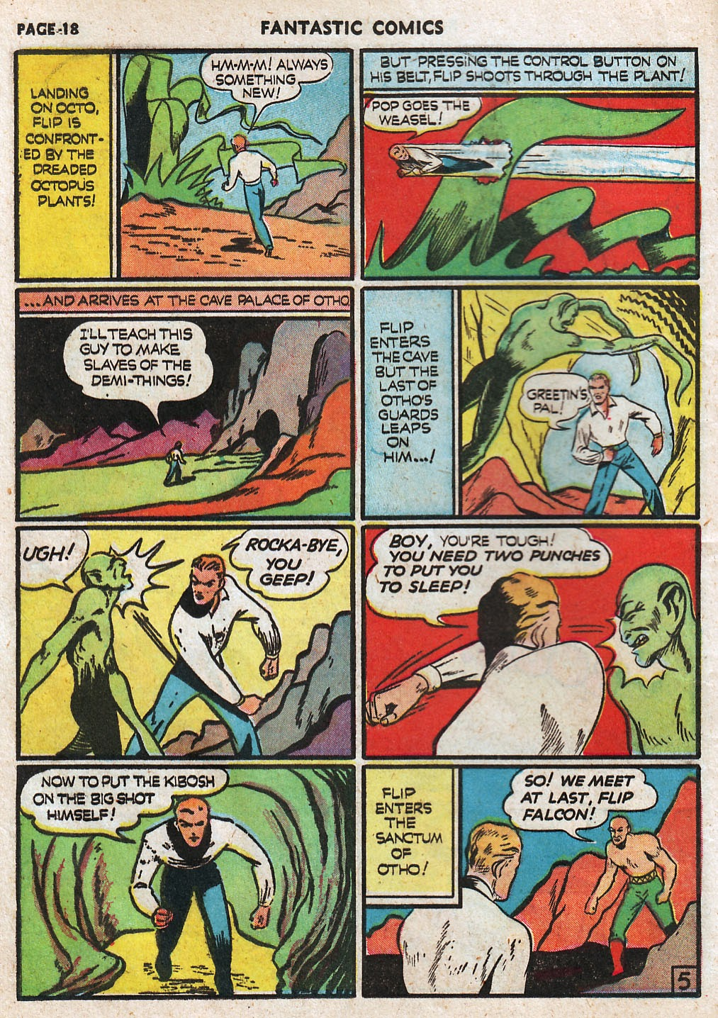 Read online Fantastic Comics comic -  Issue #17 - 20