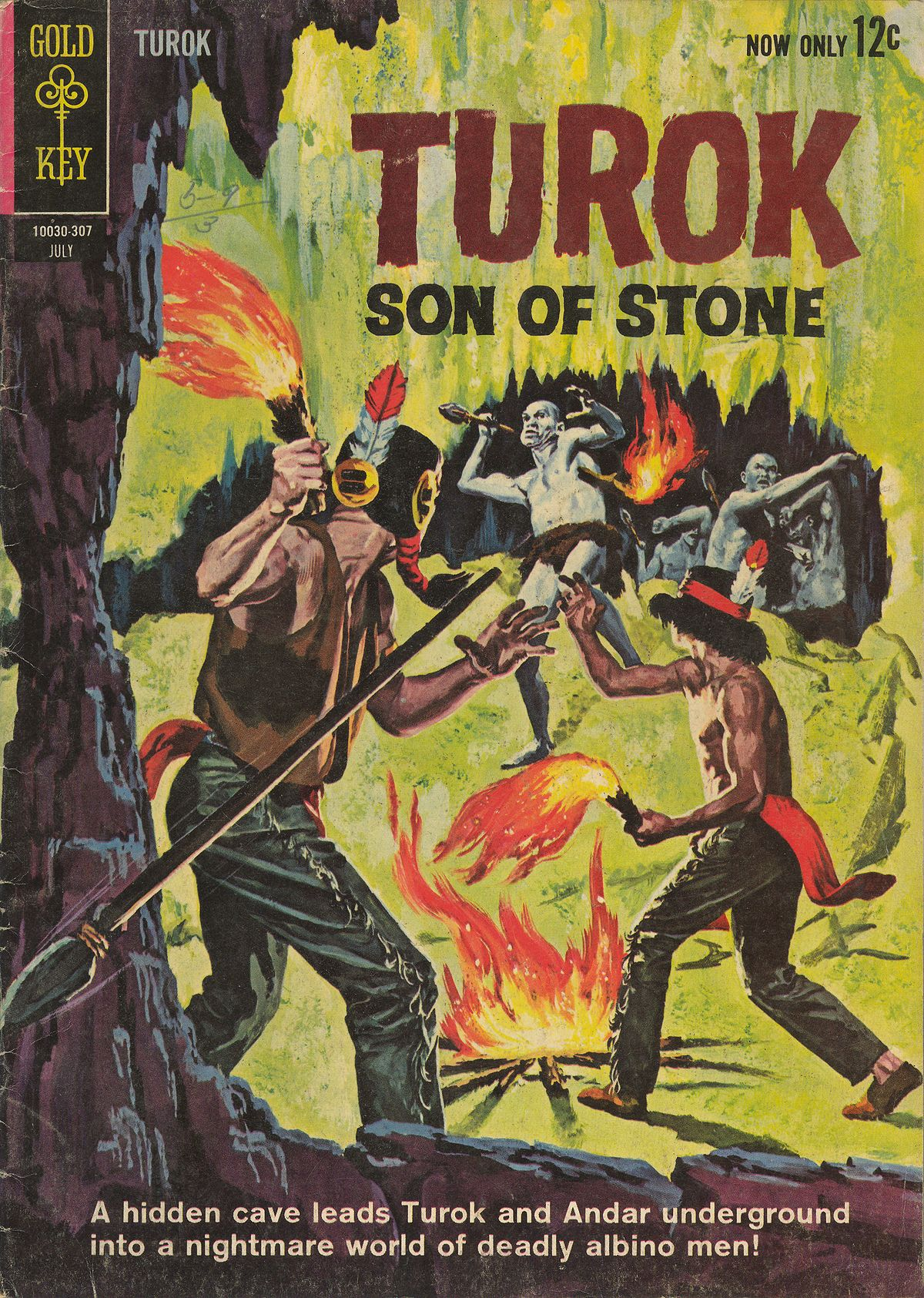 Read online Turok, Son of Stone comic -  Issue #34 - 1