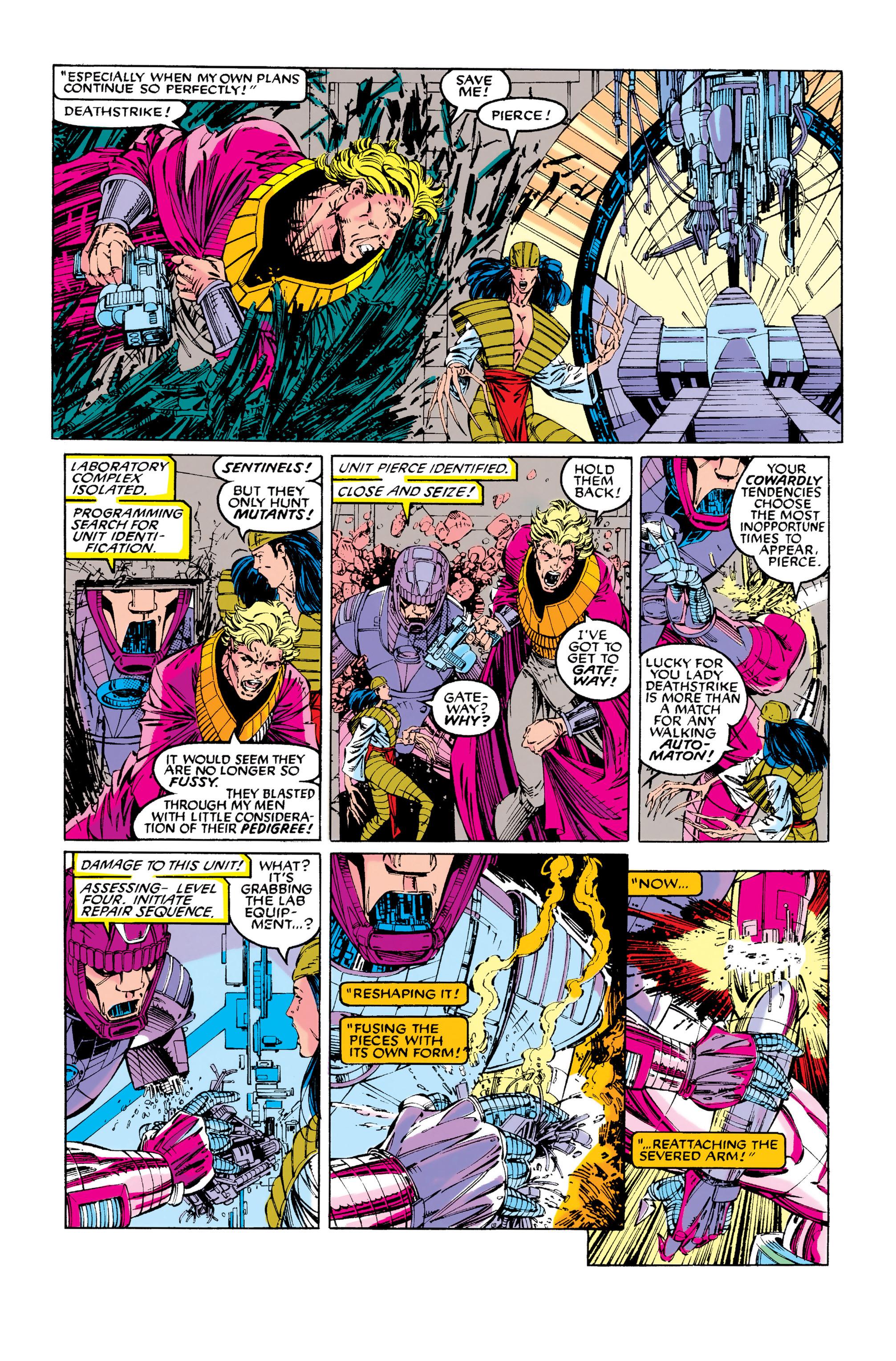 Read online Uncanny X-Men (1963) comic -  Issue #281 - 12