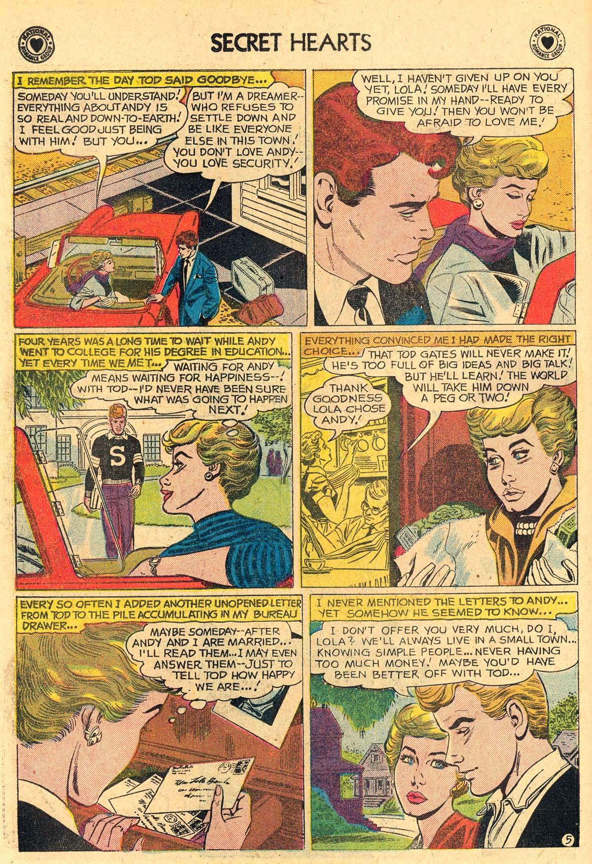 Read online Secret Hearts comic -  Issue #60 - 14