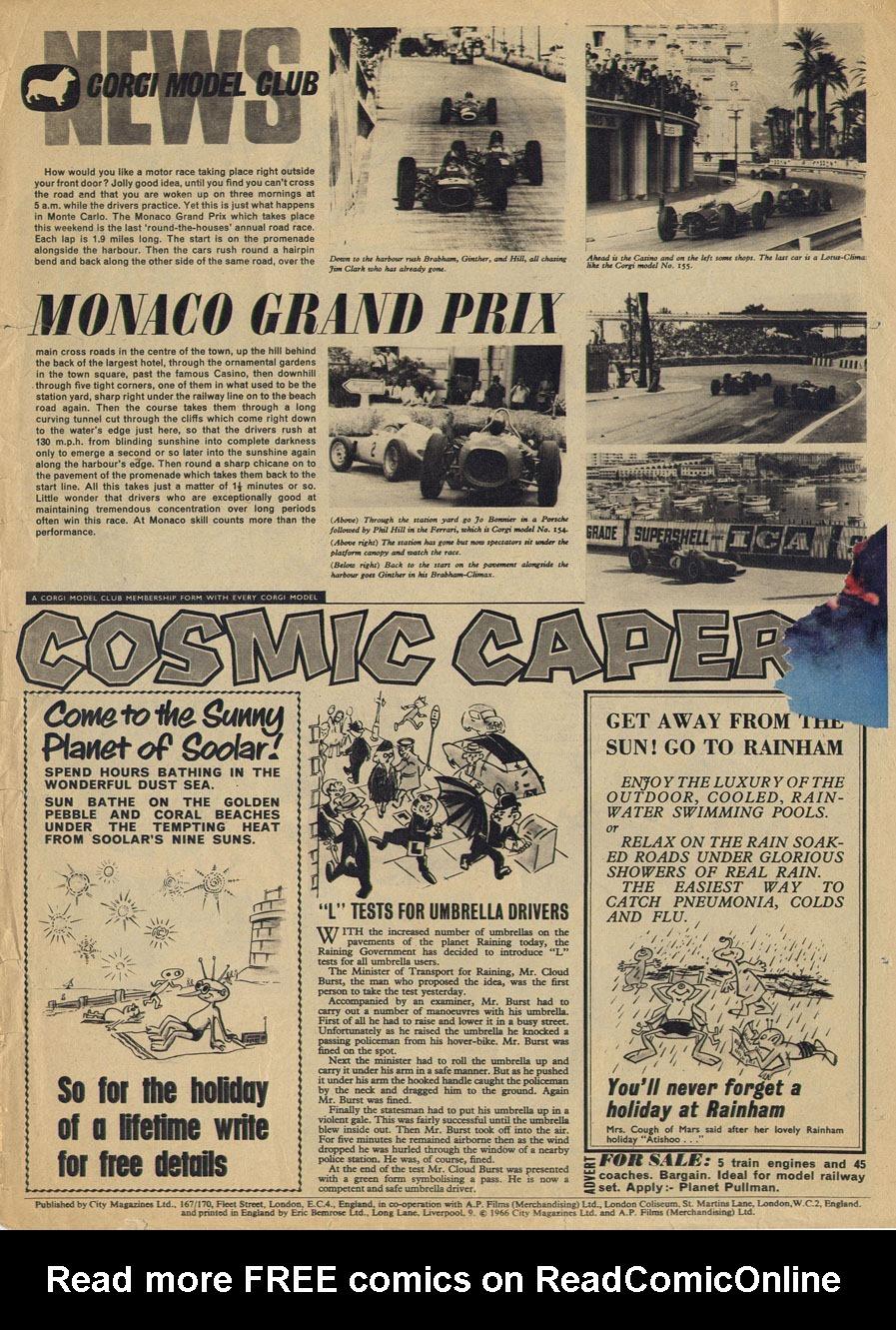Read online TV Century 21 (TV 21) comic -  Issue #71 - 18