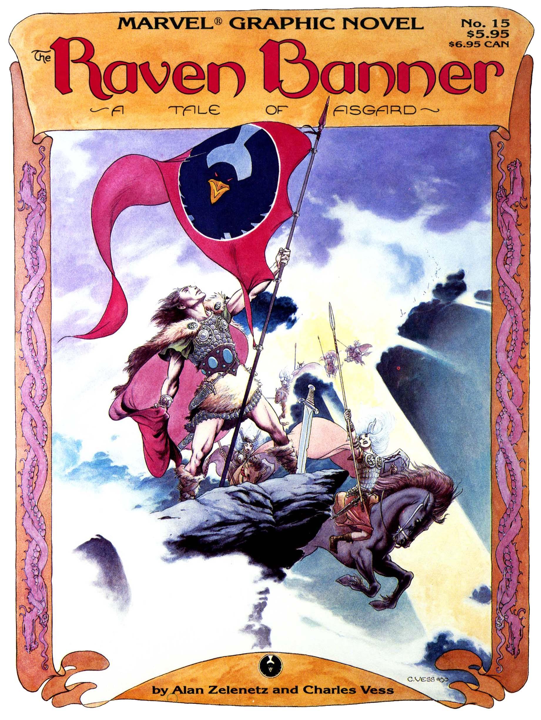 Marvel Graphic Novel 15_-_The_Raven_Banner Page 1