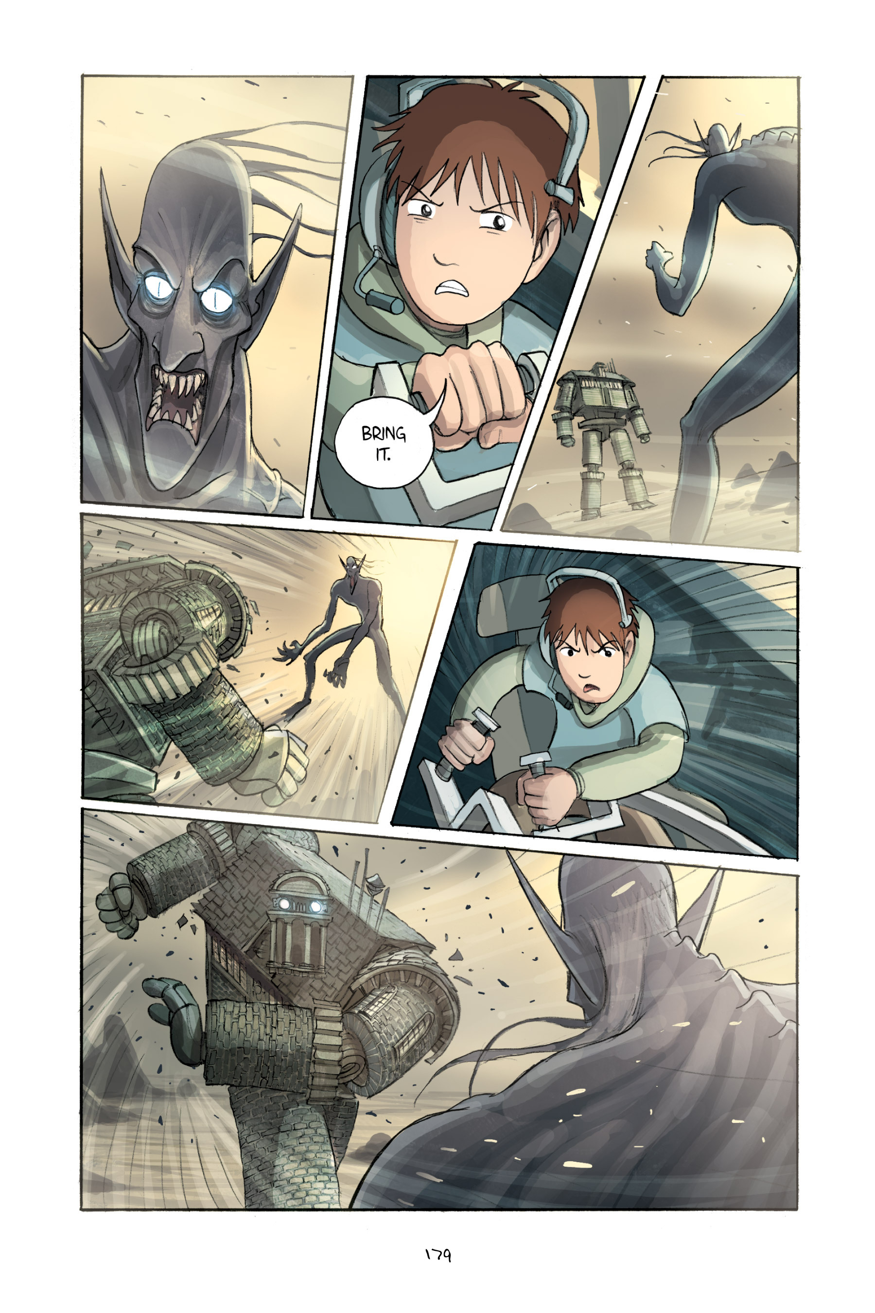 Read online Amulet comic -  Issue #2 - 178