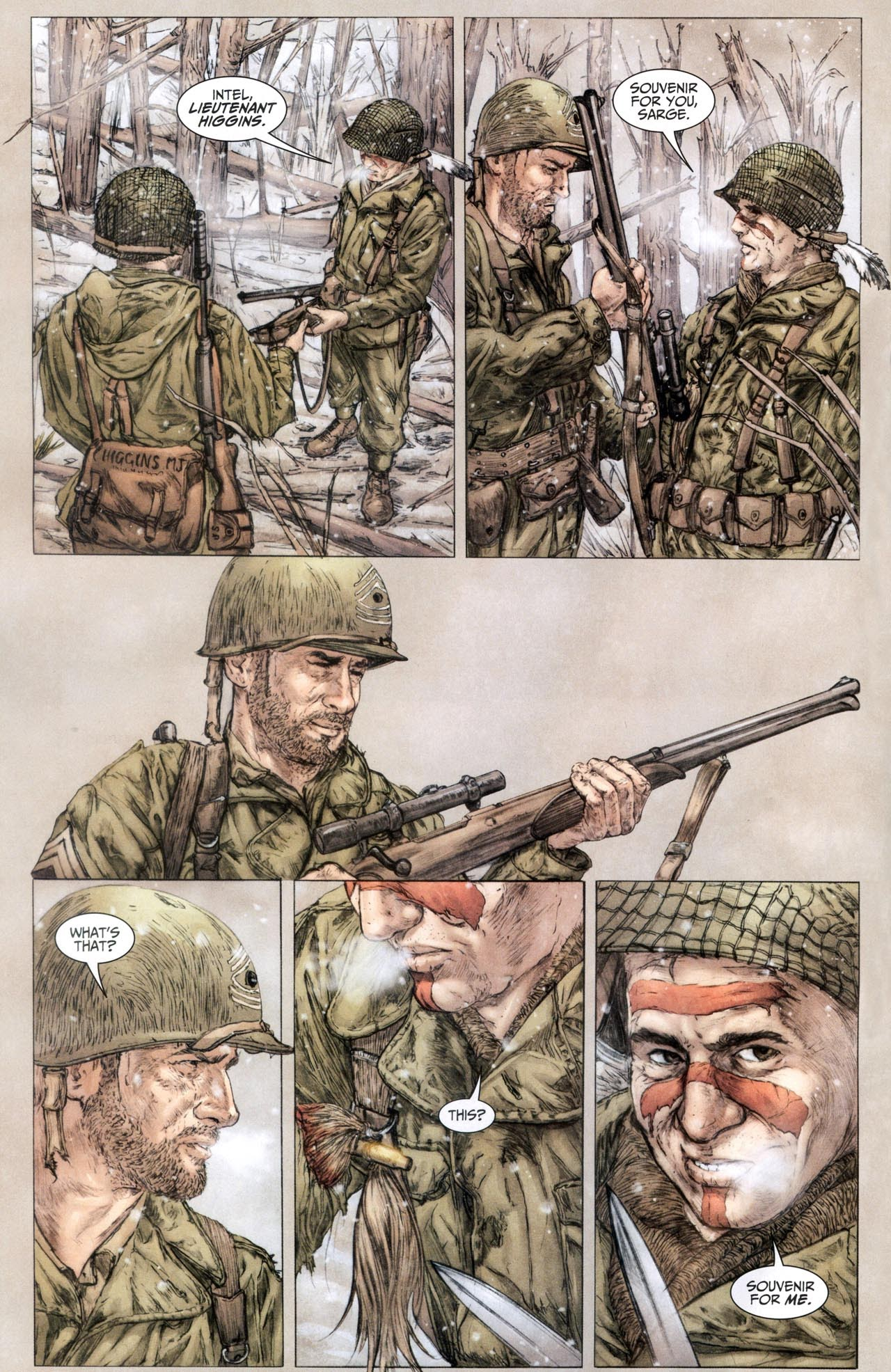Read online Sgt. Rock: The Lost Battalion comic -  Issue #6 - 3