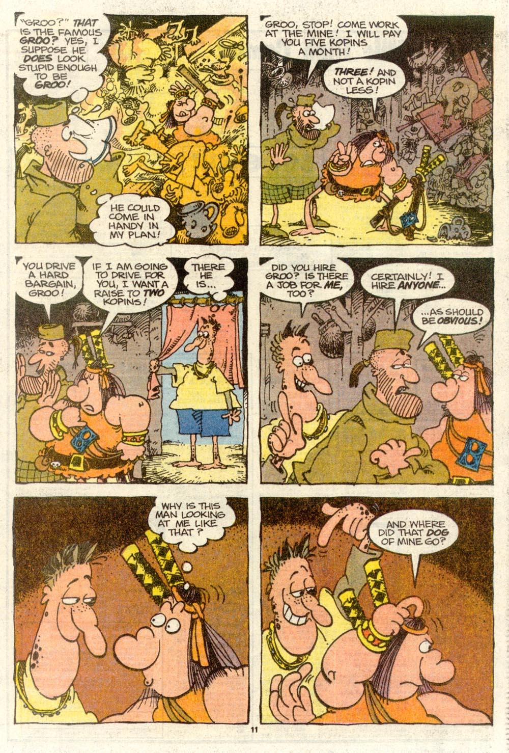 Read online Sergio Aragonés Groo the Wanderer comic -  Issue #77 - 8