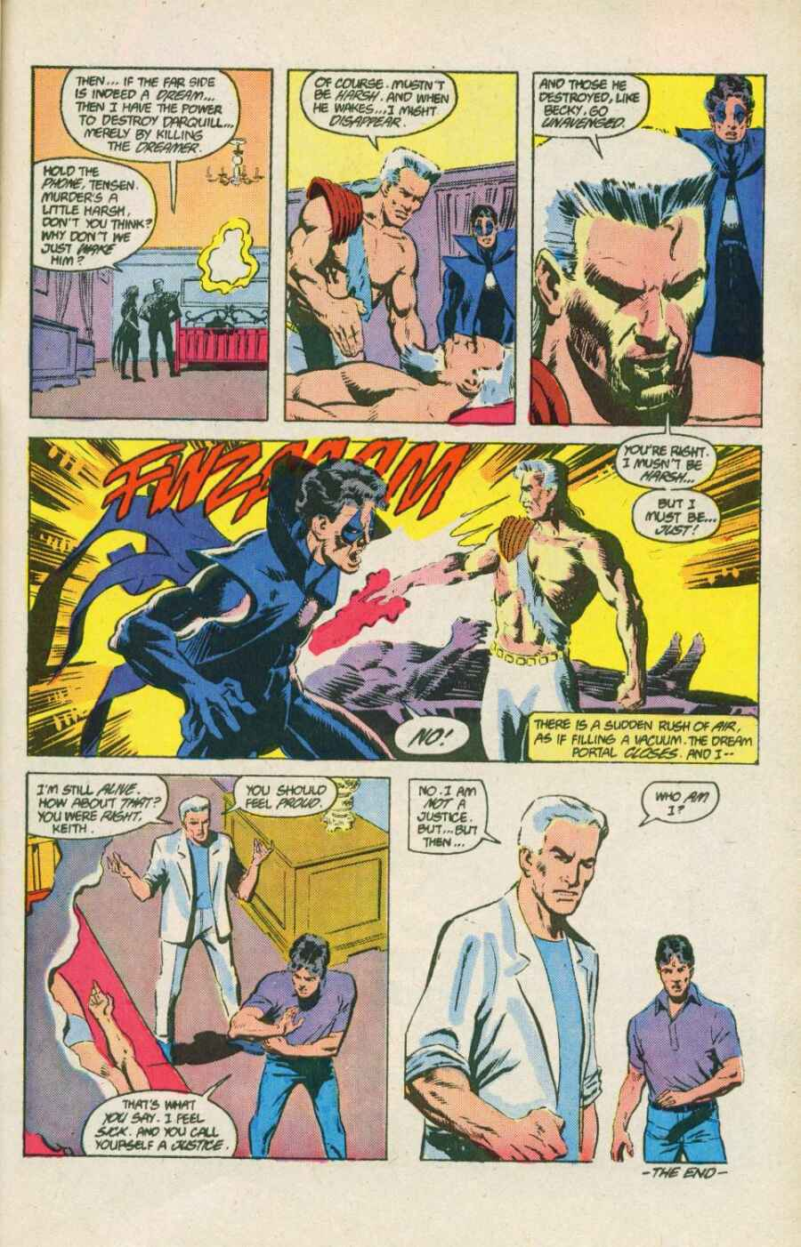Read online Justice (1986) comic -  Issue #15 - 25