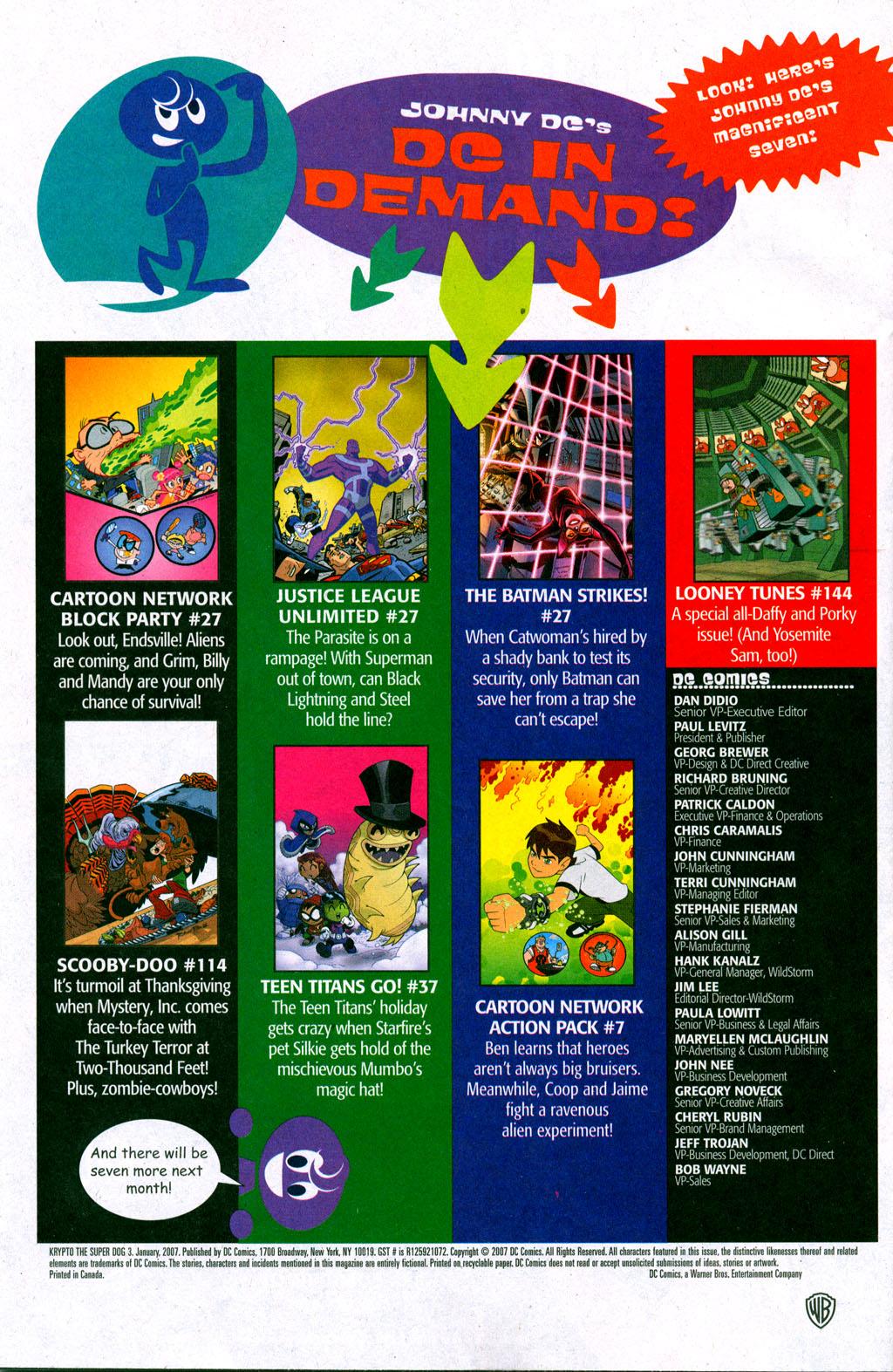 Read online Krypto the Superdog comic -  Issue #3 - 22