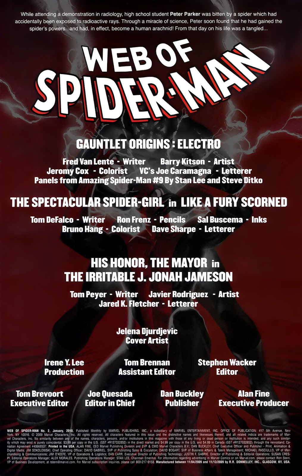 Web of Spider-Man (2009) Issue #2 #2 - English 2