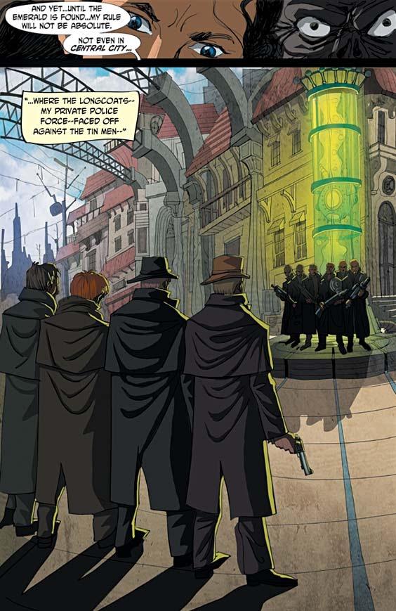Read online Tin Man comic -  Issue # Full - 5