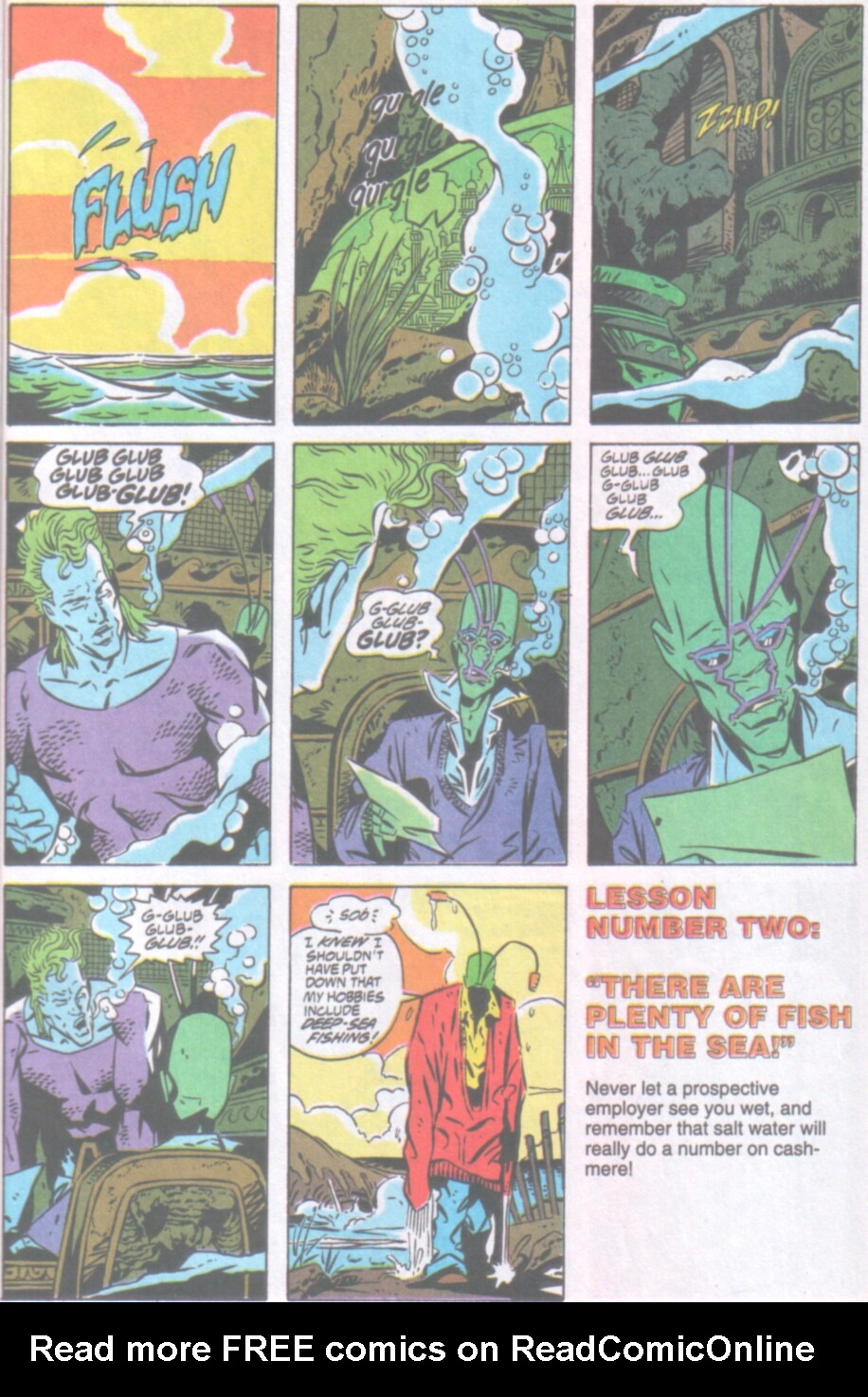 Read online Ambush Bug Nothing Special comic -  Issue # Full - 4