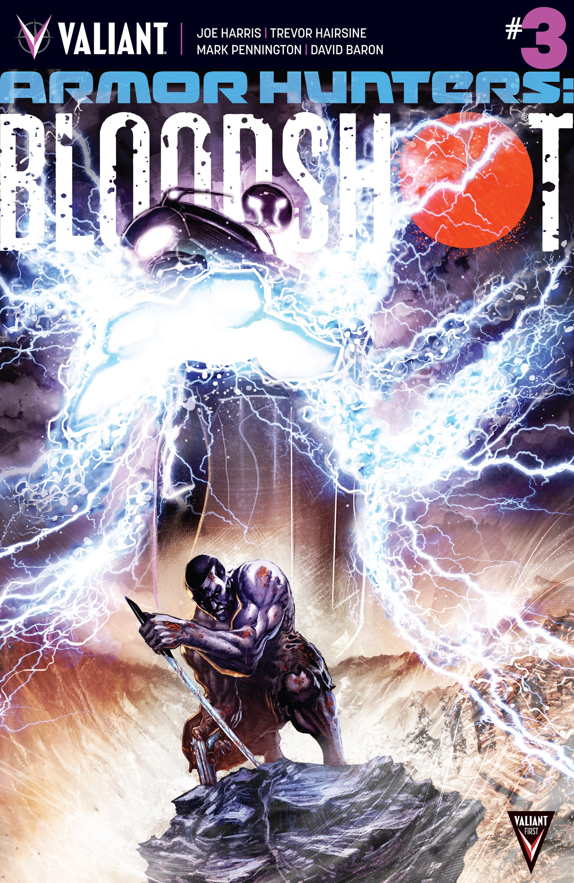 Read online Armor Hunters: Bloodshot comic -  Issue #3 - 1