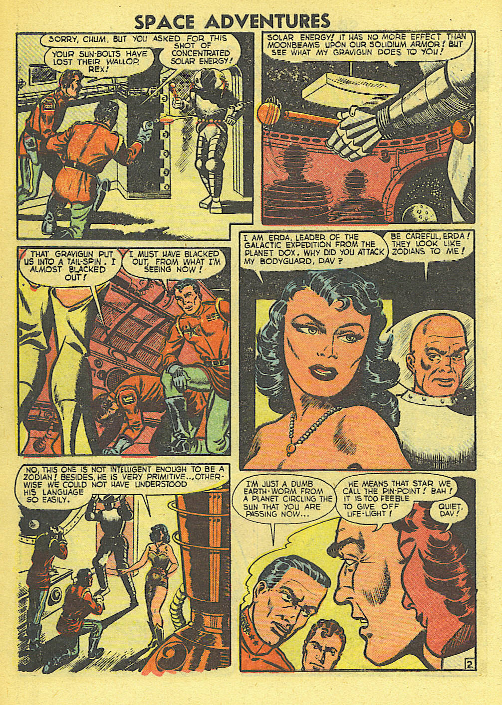 Space Adventures (1952) issue 4 - Page 3