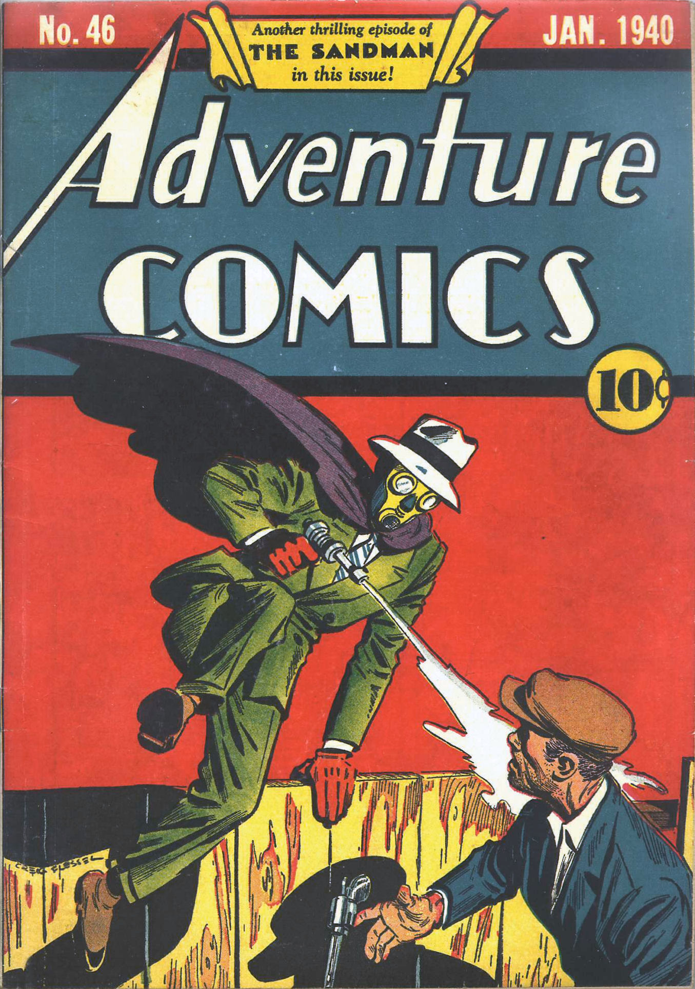 Read online Adventure Comics (1938) comic -  Issue #46 - 2
